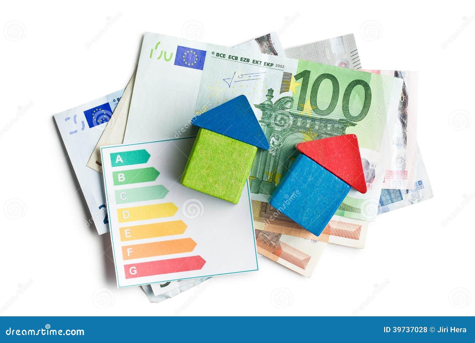 concept de l'économie d'énergie de maison photo stock - image du