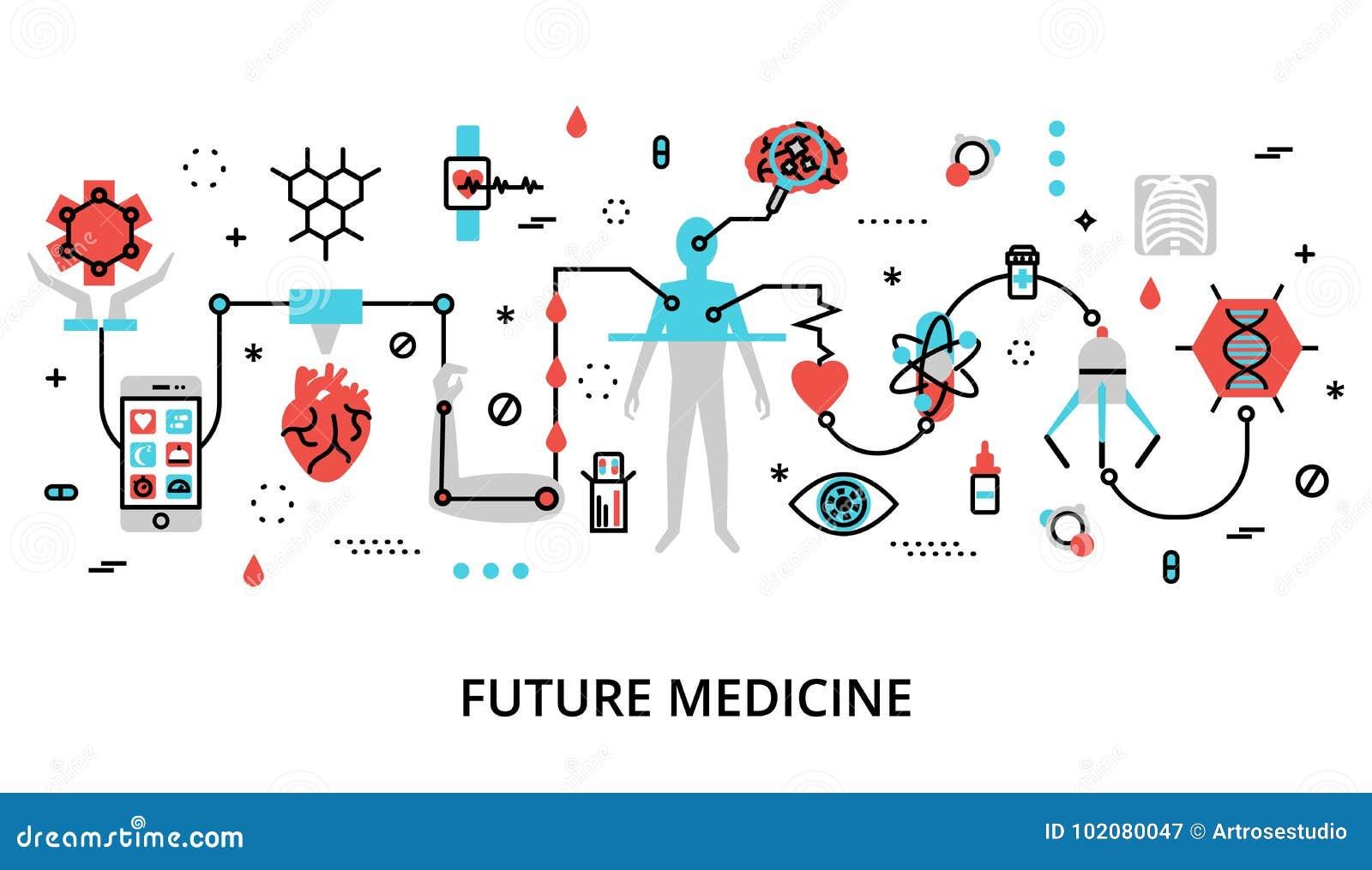 Concept de la future médecine