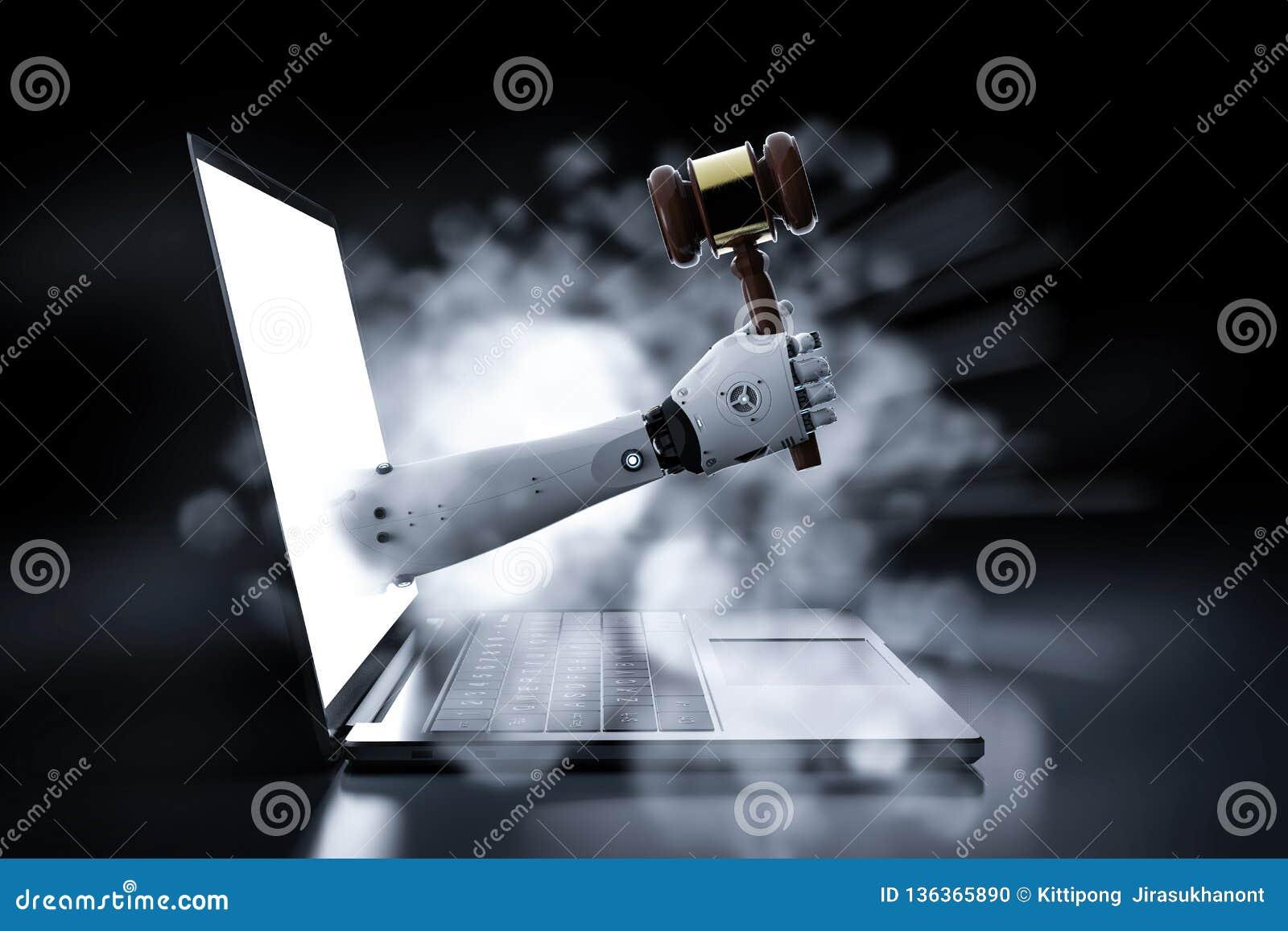 Concept de loi de Cyber