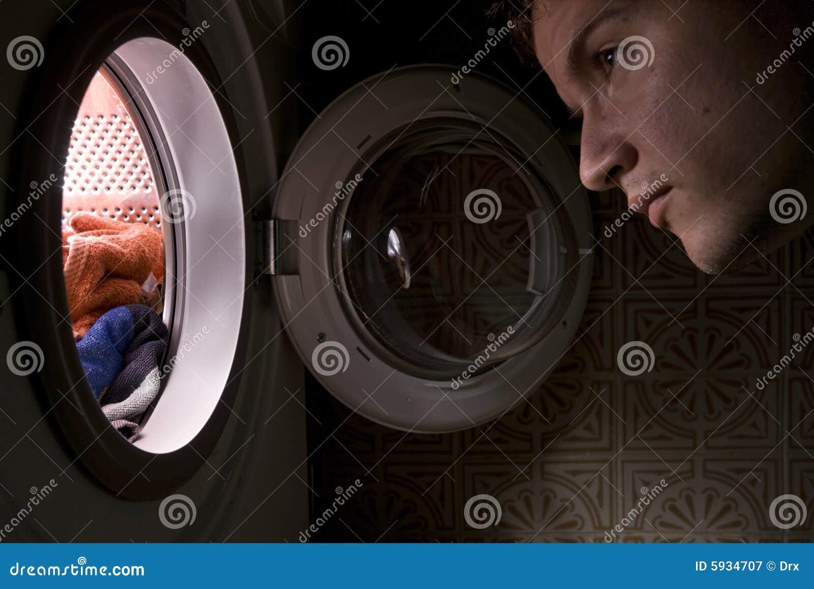Concept de machine laver photographie stock libre de for Interieur machine a laver