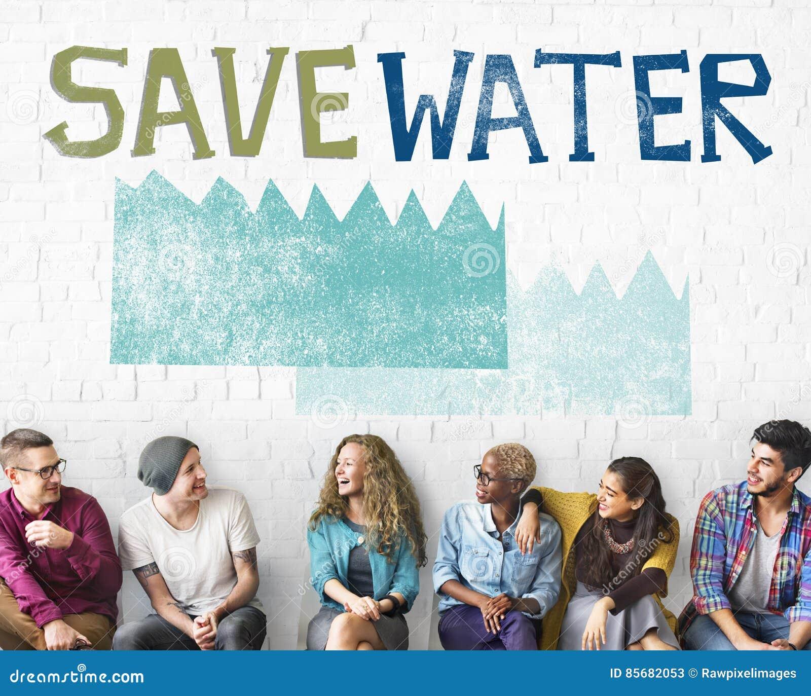 Concept de nature de durabilité de conservation de l eau d écologie