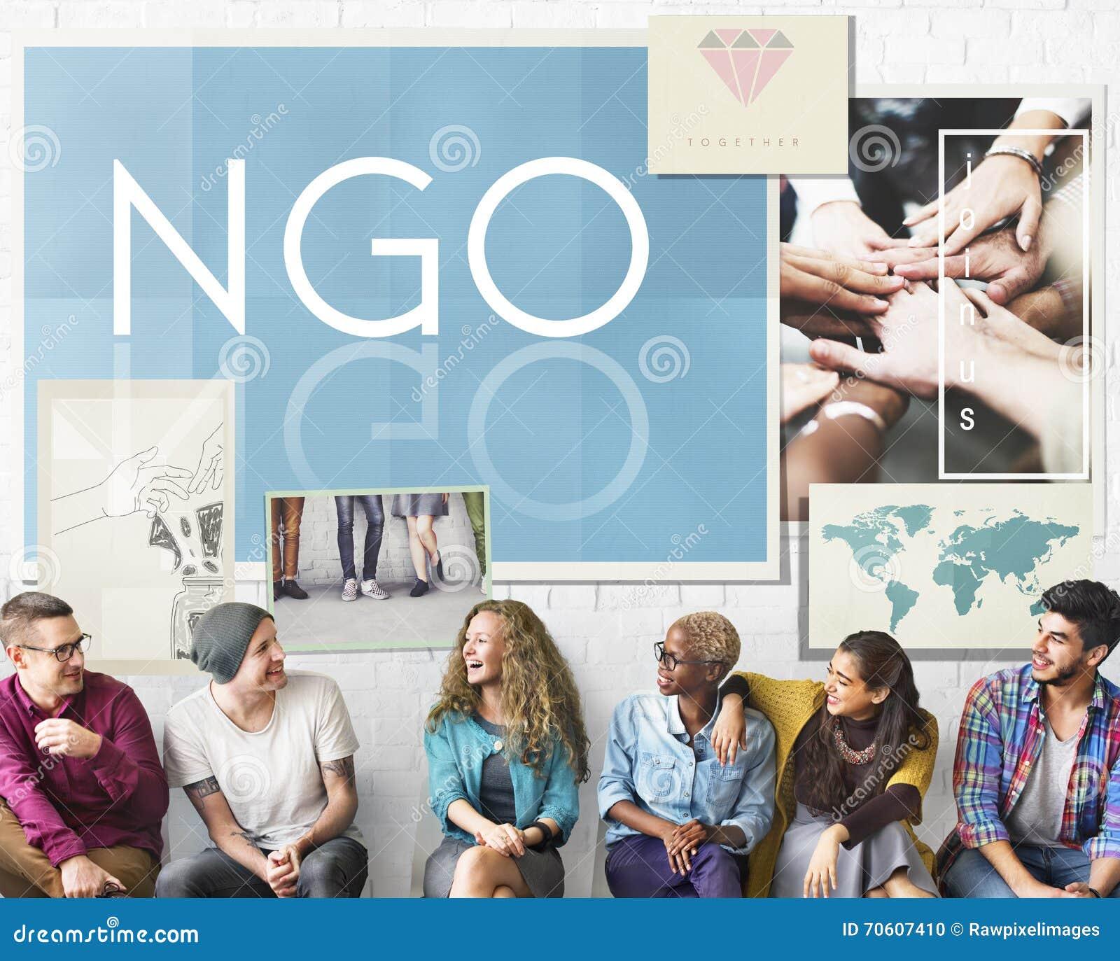 Concept de NGO Contribution Corporate Foundation Nonprofit