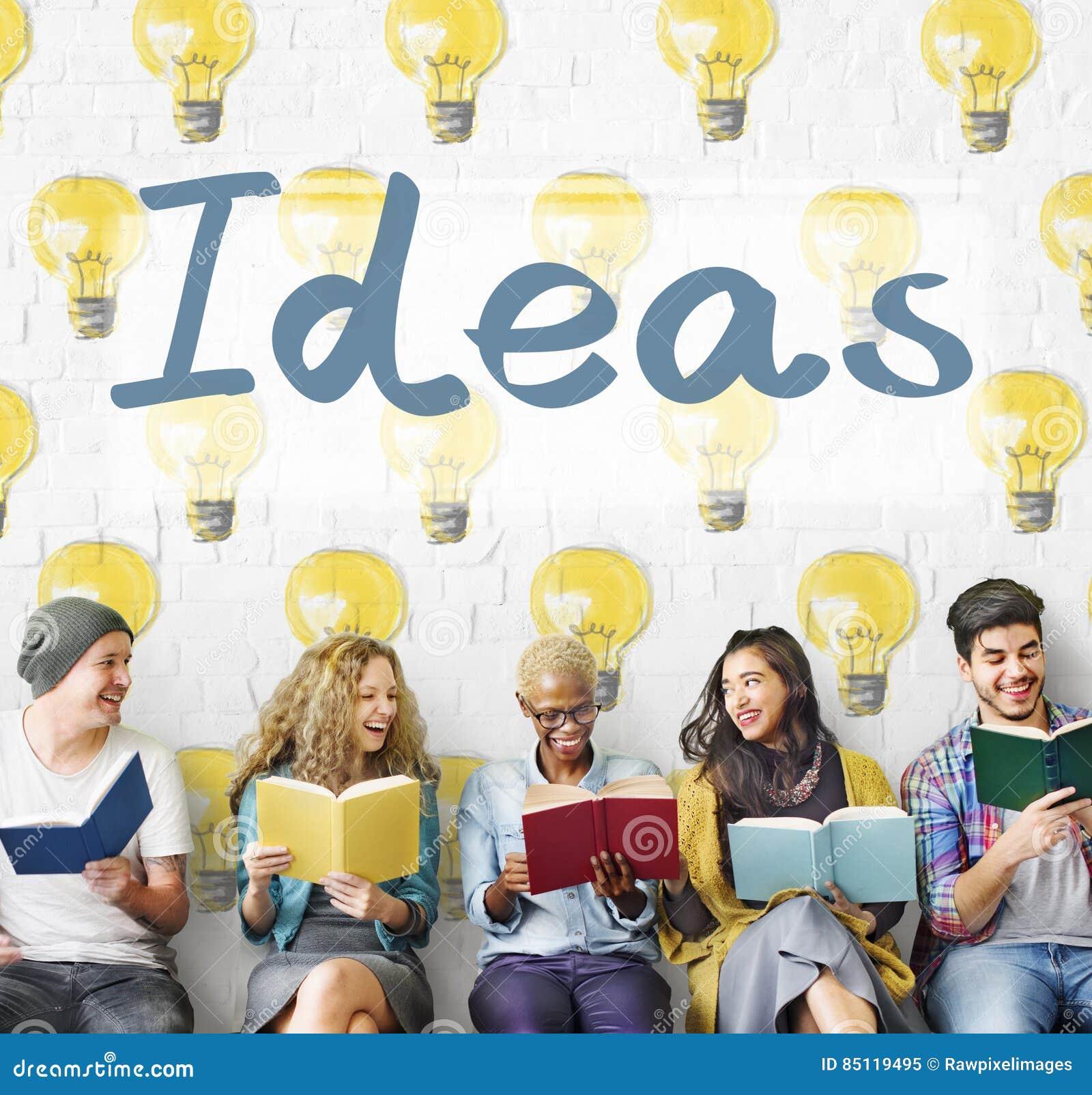 Concept de plan de pensées de la tactique d innovation d idées