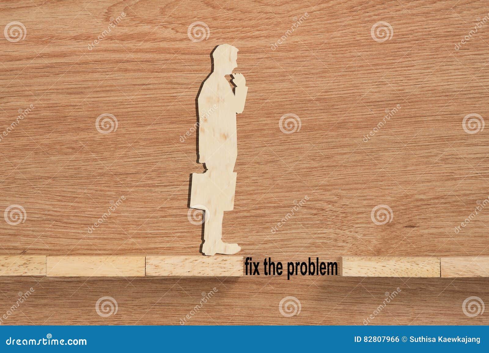 Concept de problème et de difficulté d un homme d affaires