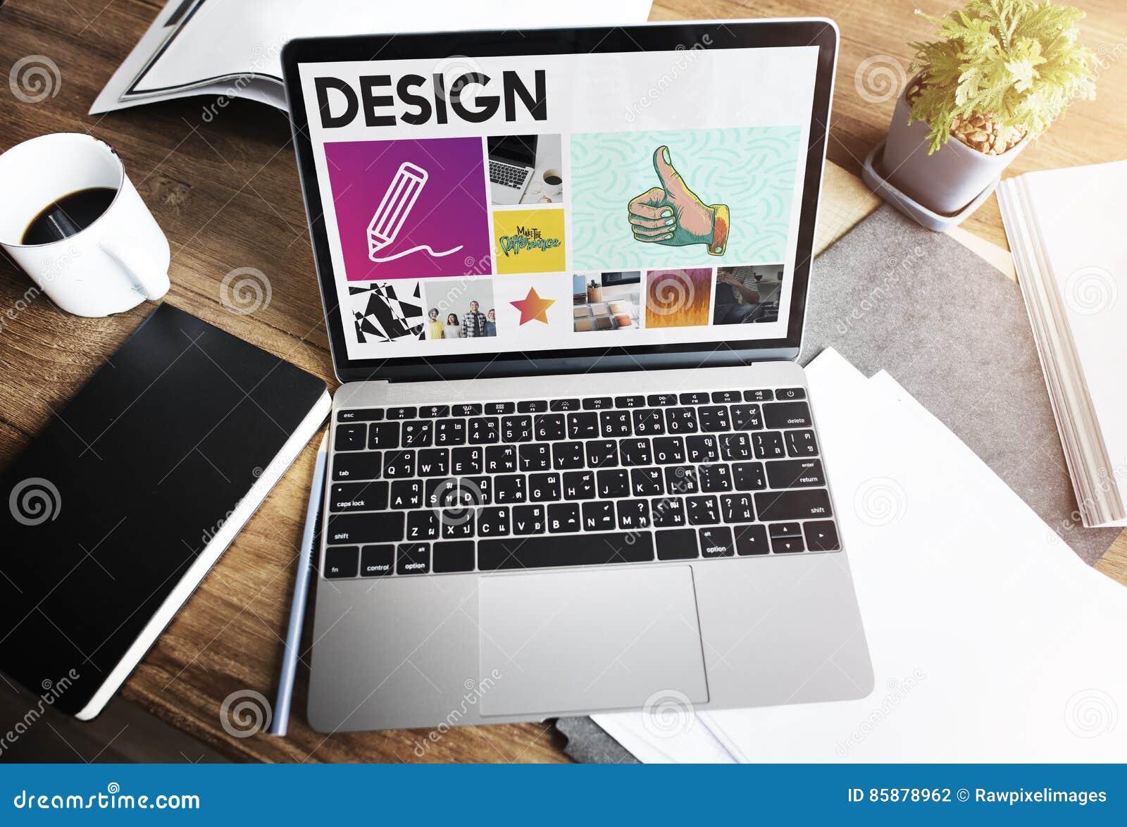 Concept de qualifications d Art Pencil Drawing Creativity Imagination