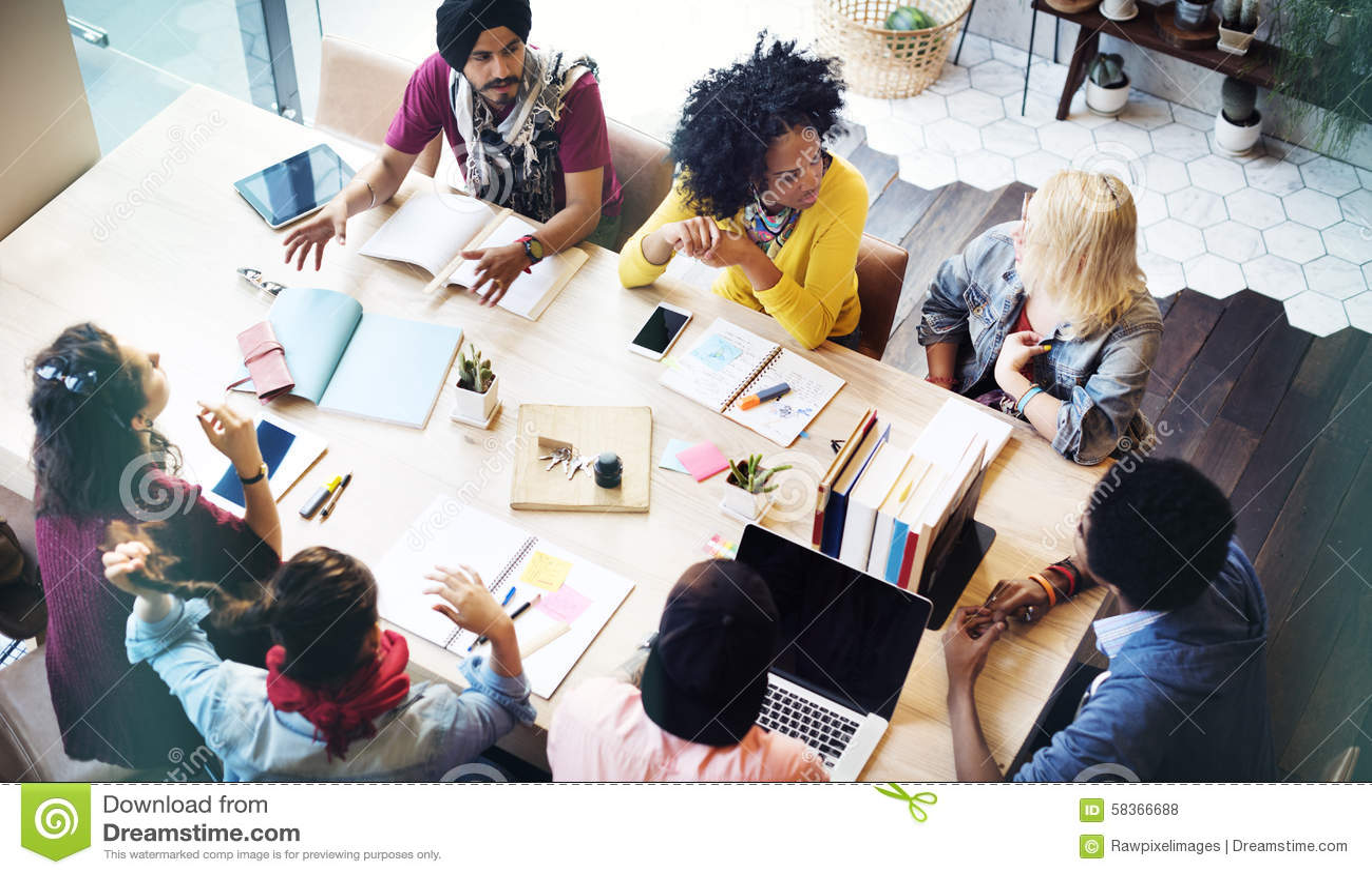 Concept de réunion de Teamwork Brainstorming Planning de concepteur