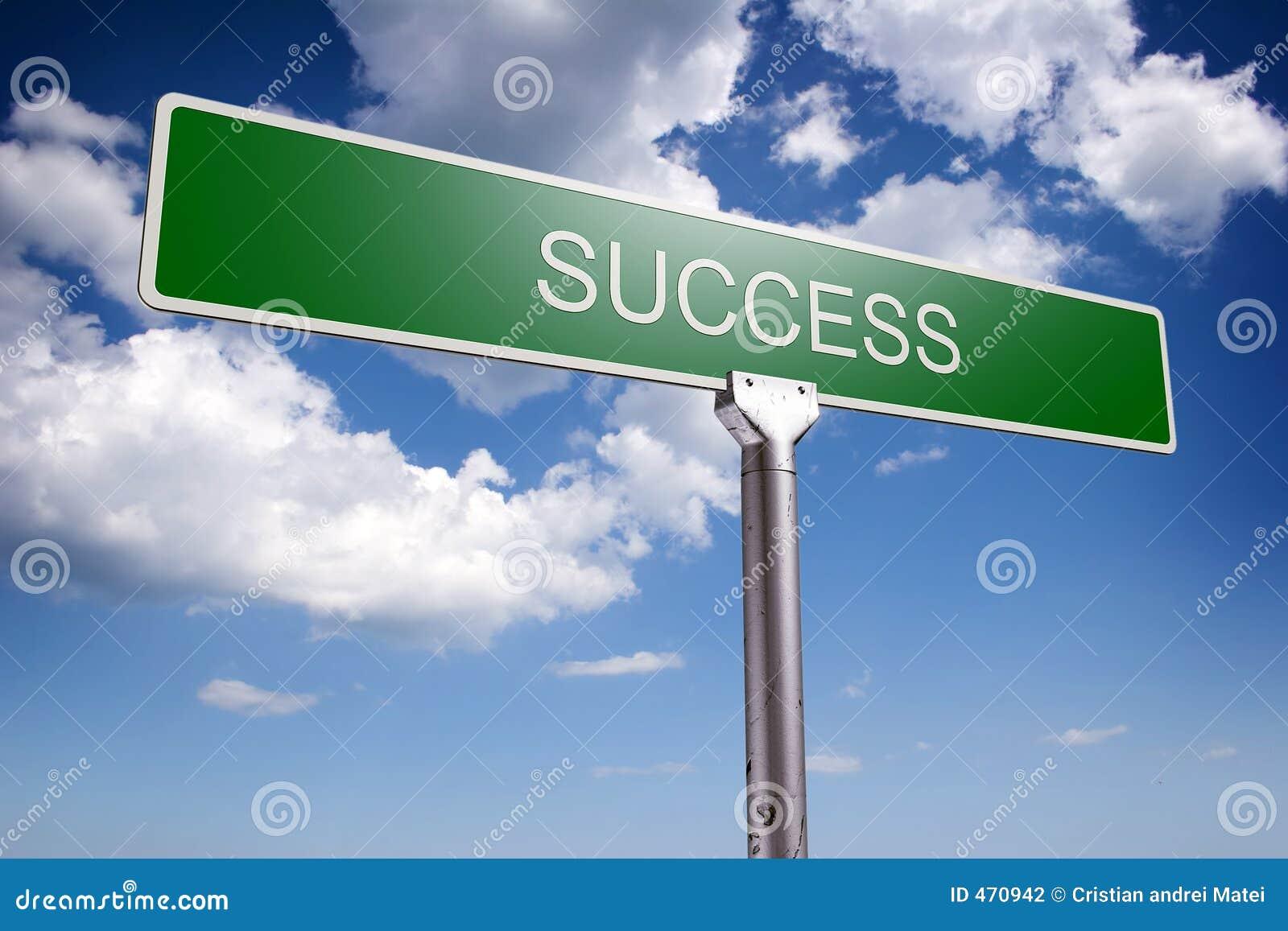 Concept de réussite