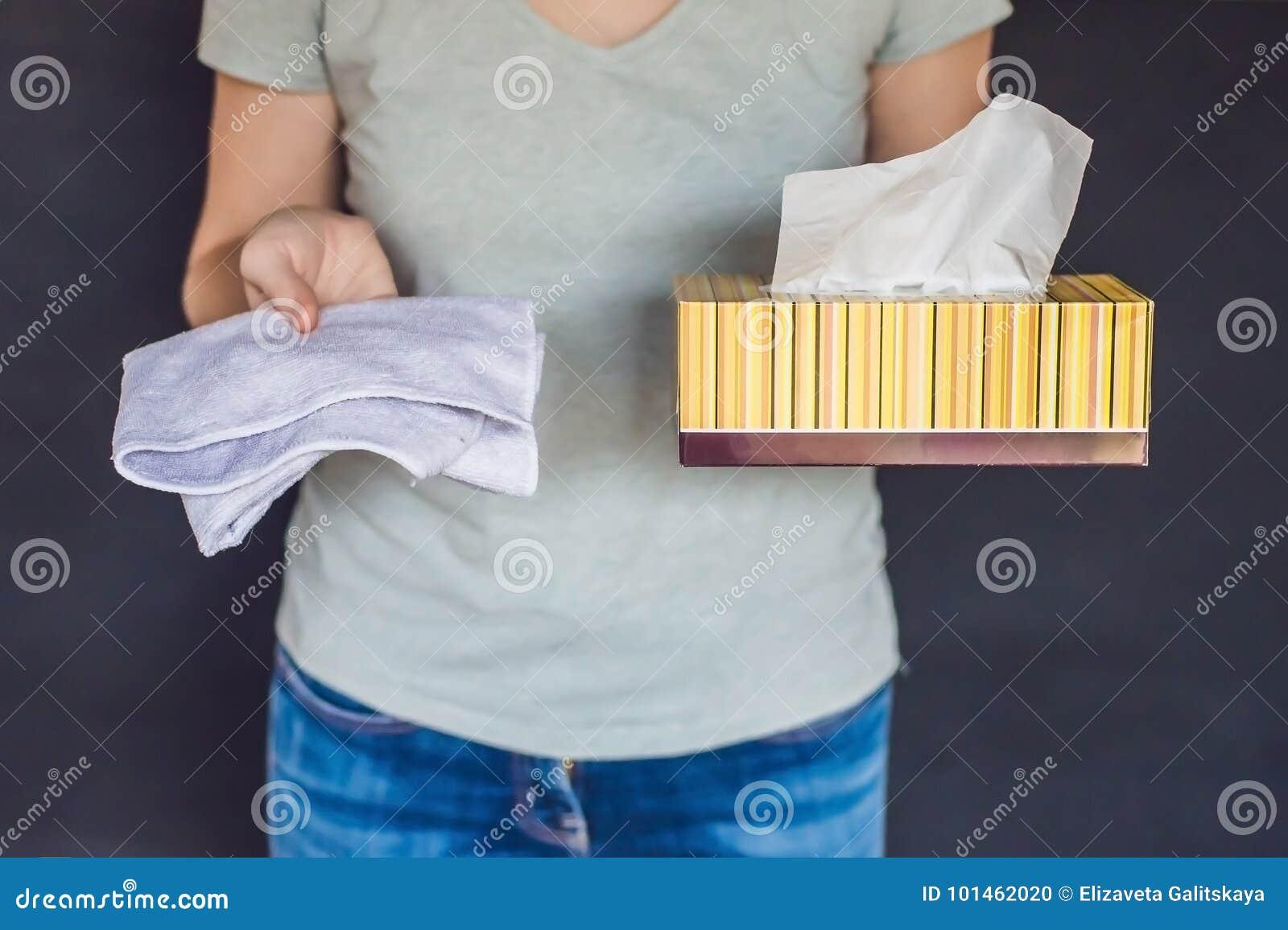 Concept de rebut zéro Employez une serviette en bambou ou des chiffons jetables zéro