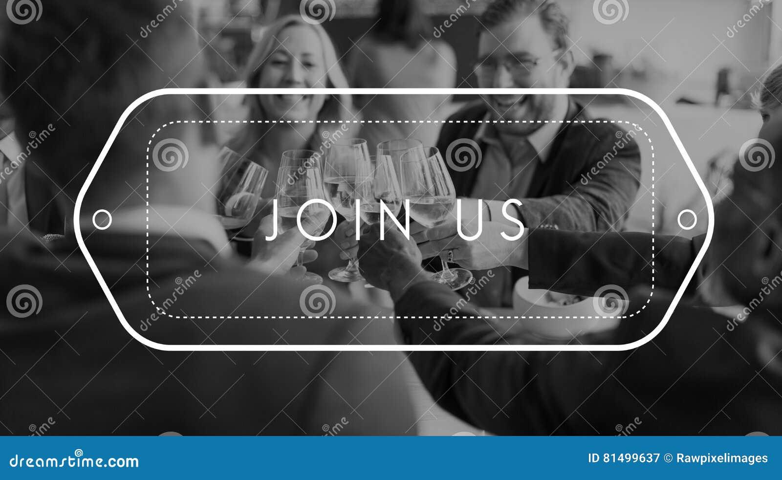Concept de ressources humaines de recrutement d adhésion de s inscrire de rejoignez-nous