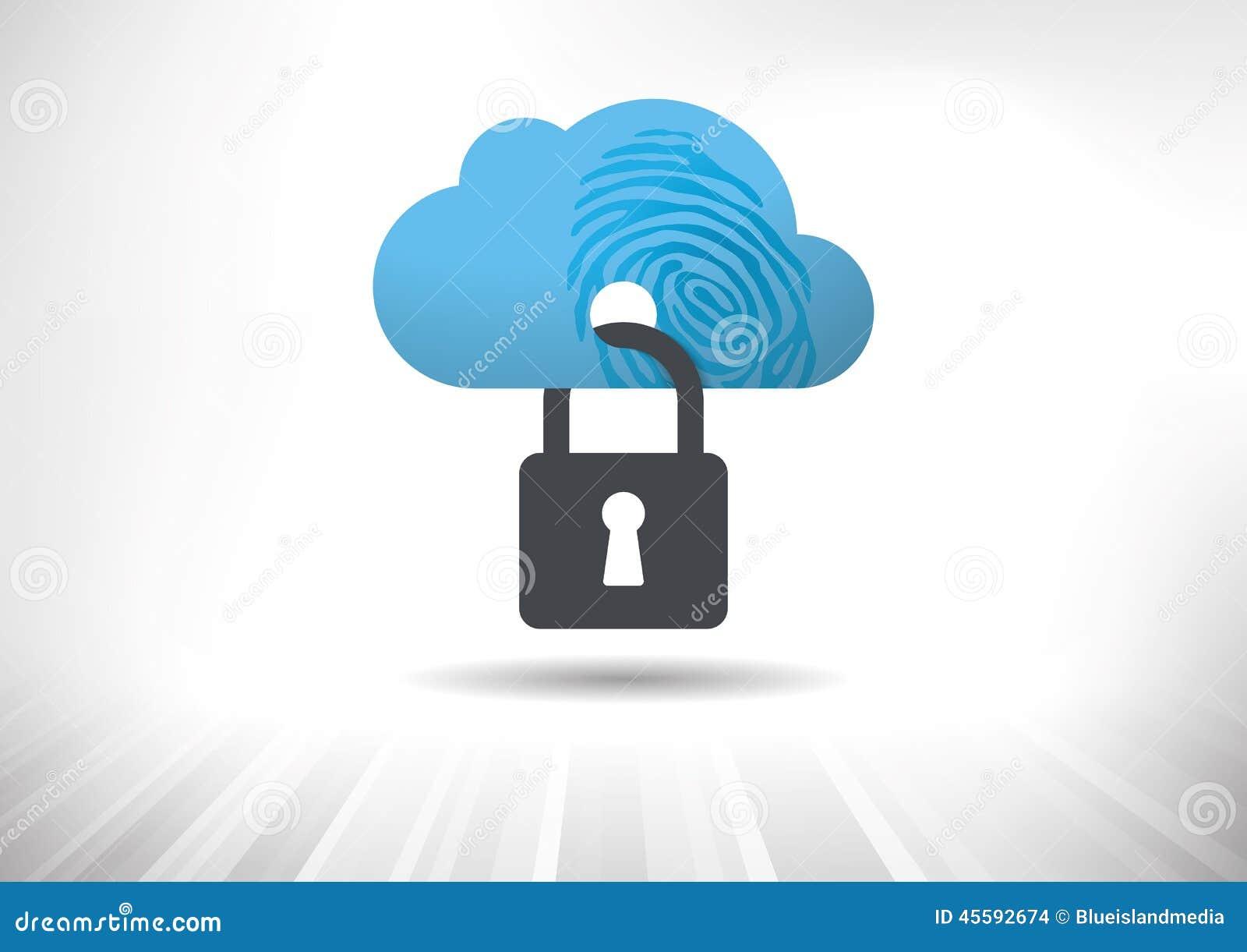 Concept de sécurité d identité de nuage