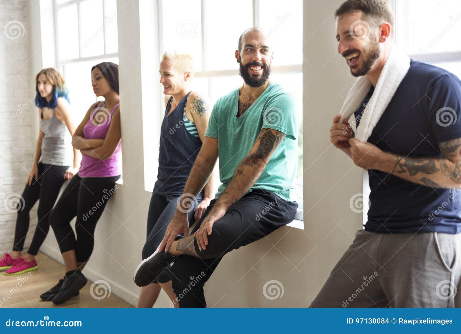 Concept de santé de forme physique d exercice de séance d entraînement