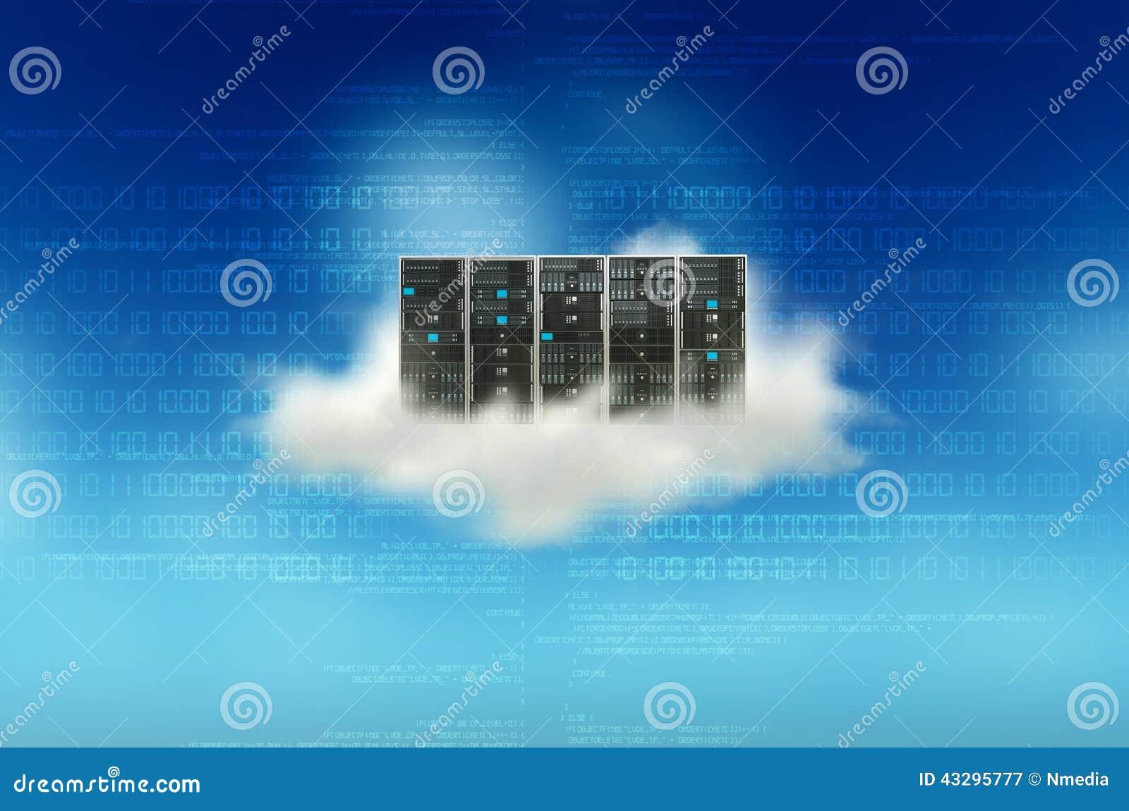Concept de serveur de nuage