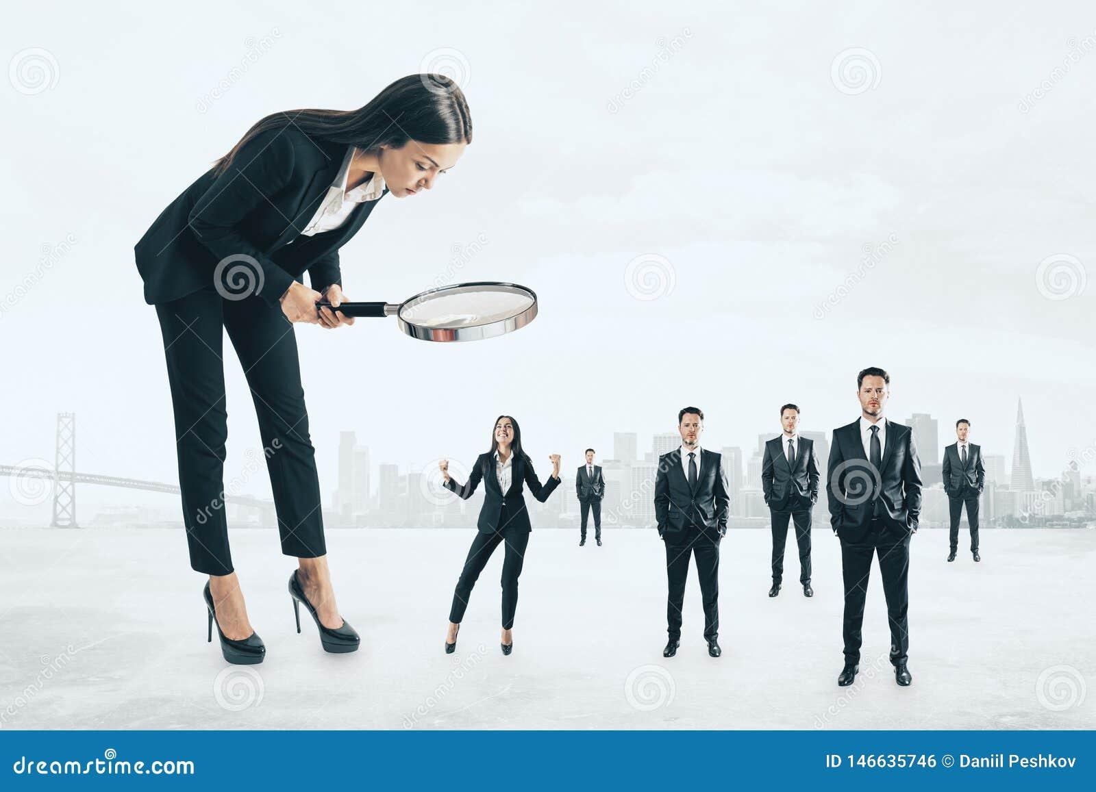 Concept de surveillance et de travail d équipe