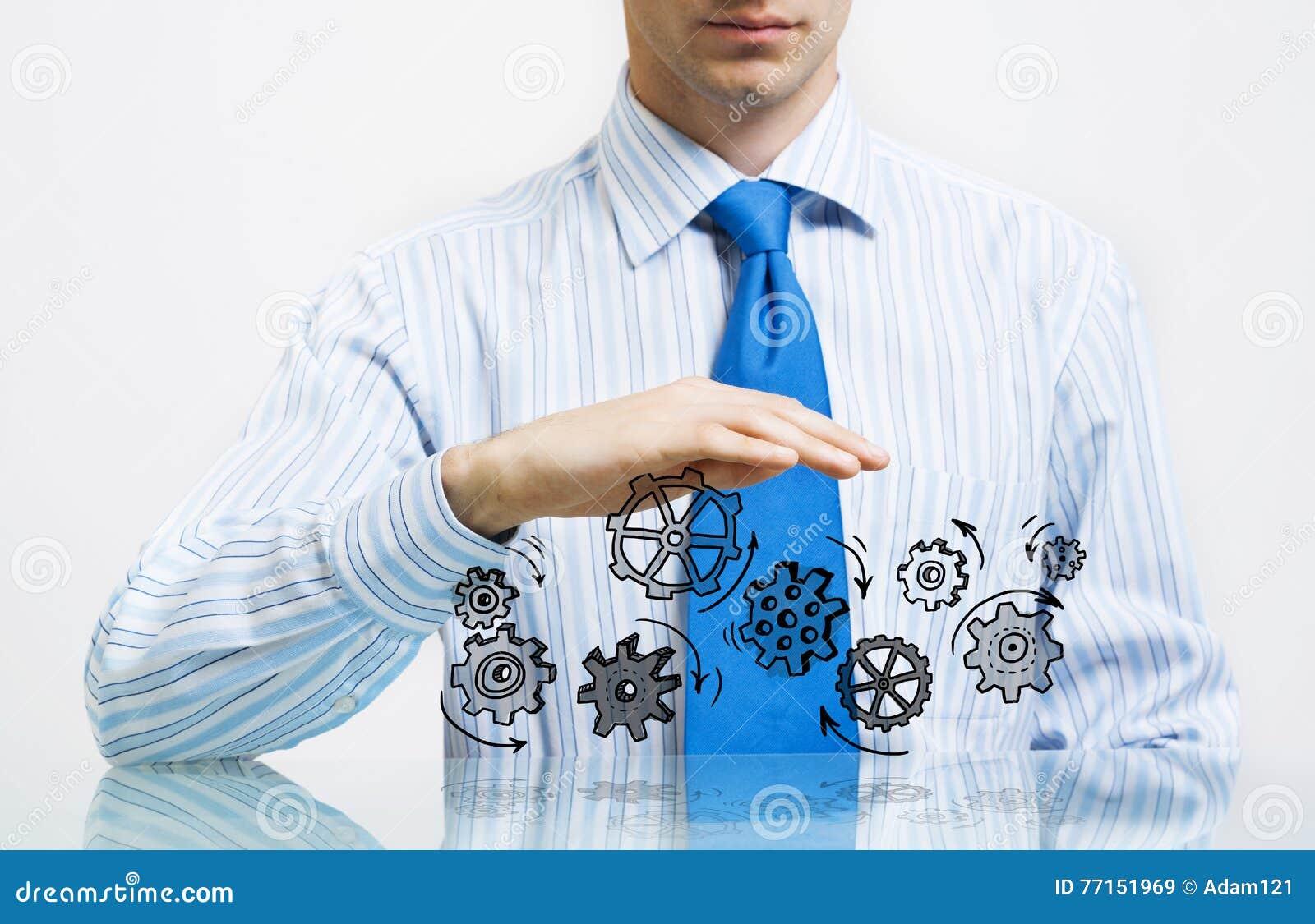 Concept de travail d équipe et de coopération