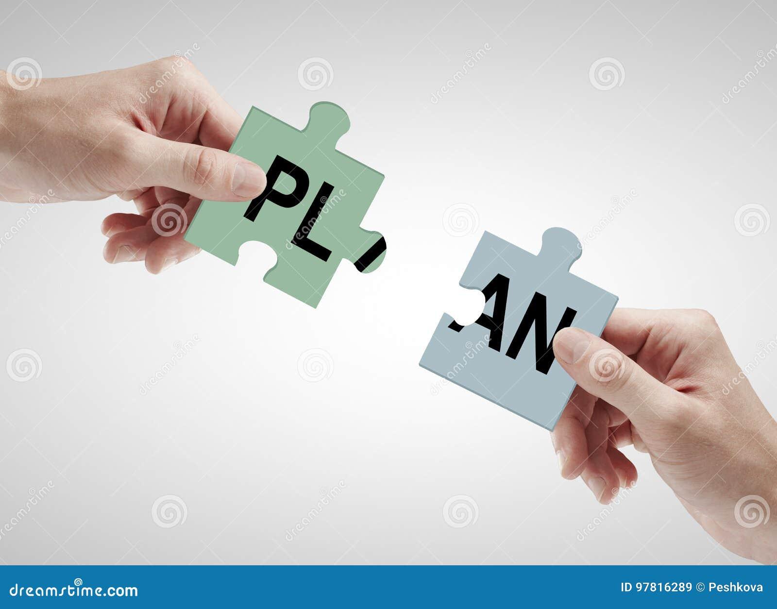 Concept de travail d équipe et de plan