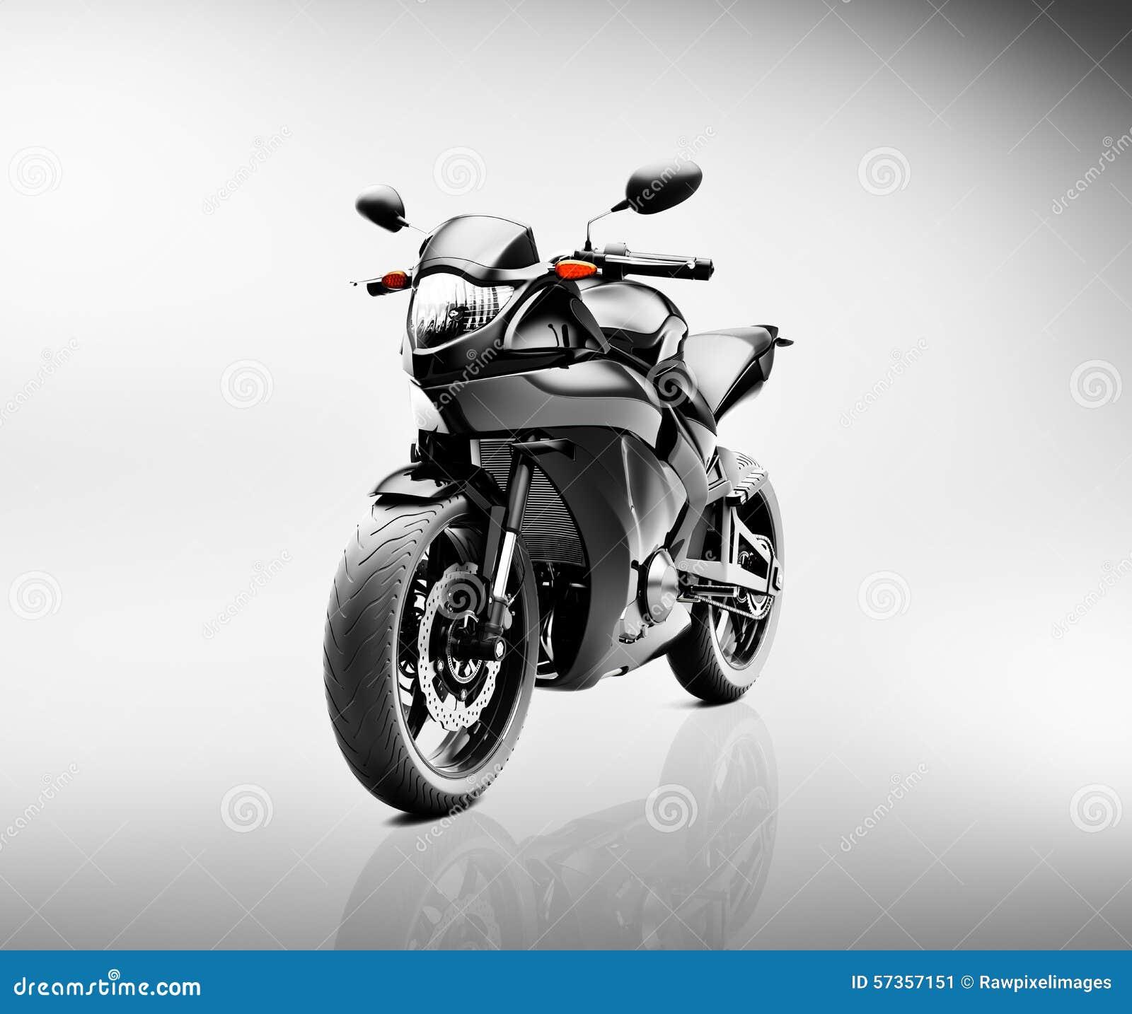 Concept de véhicule de motocyclette de moto de Brandless