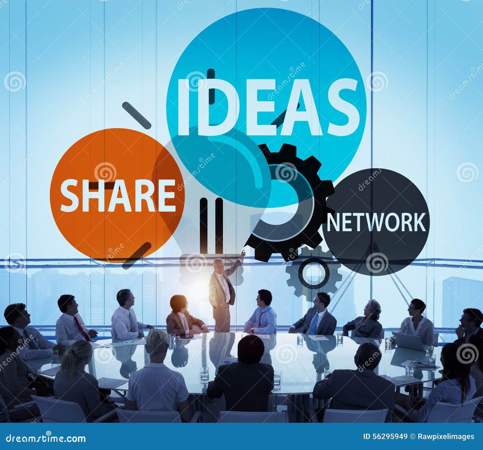 Concept de vision d inspiration de la connaissance de créativité d innovation d idées