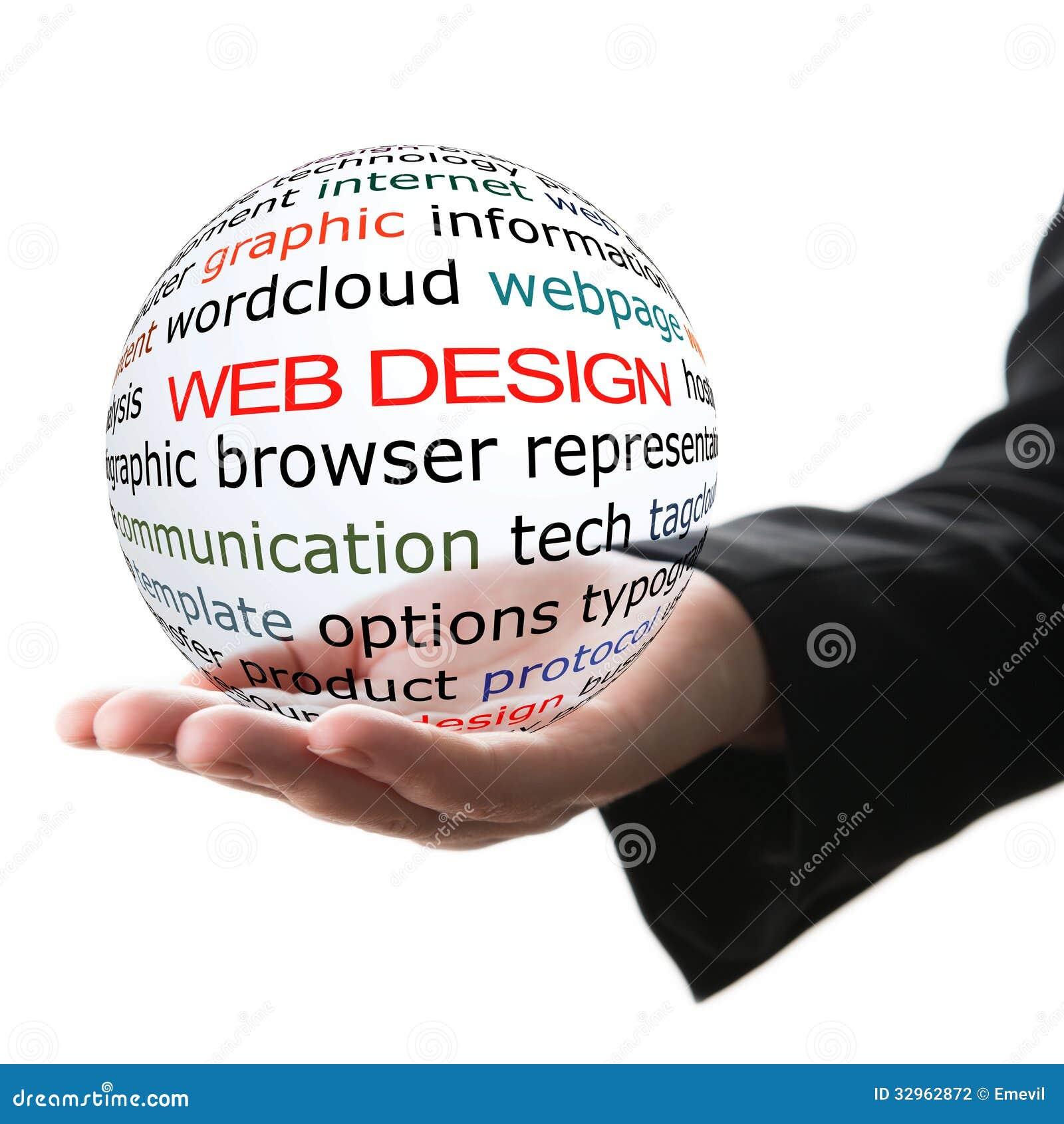 Concept de web design