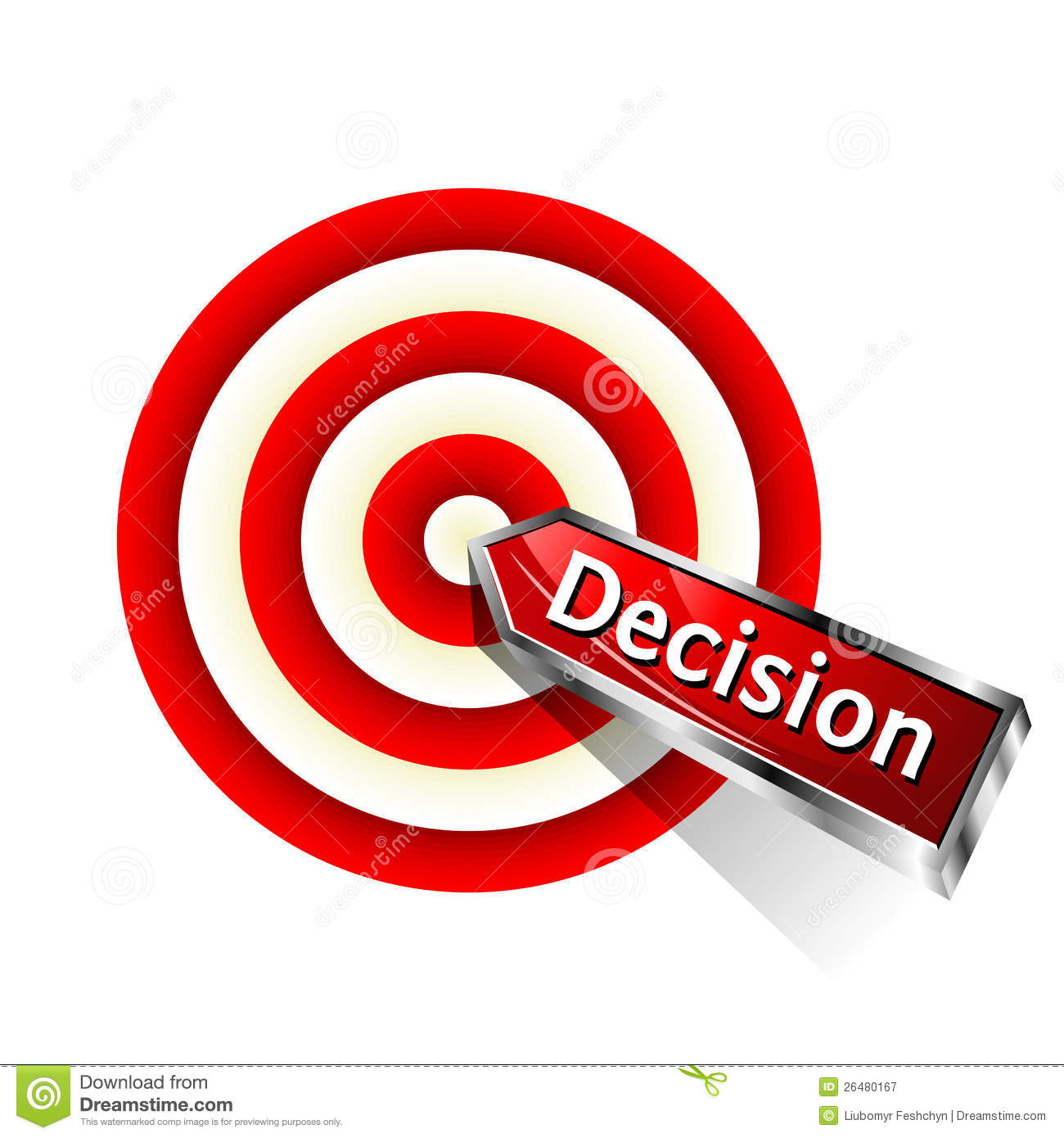 Concept Decision Icon Royalty Free Stock Photography