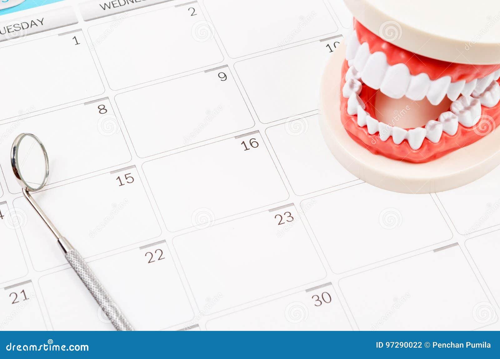 Concept dentaire de rendez-vous