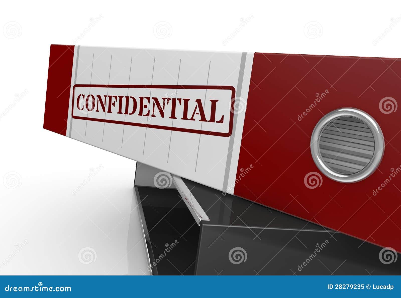 Concept des données confidentielles
