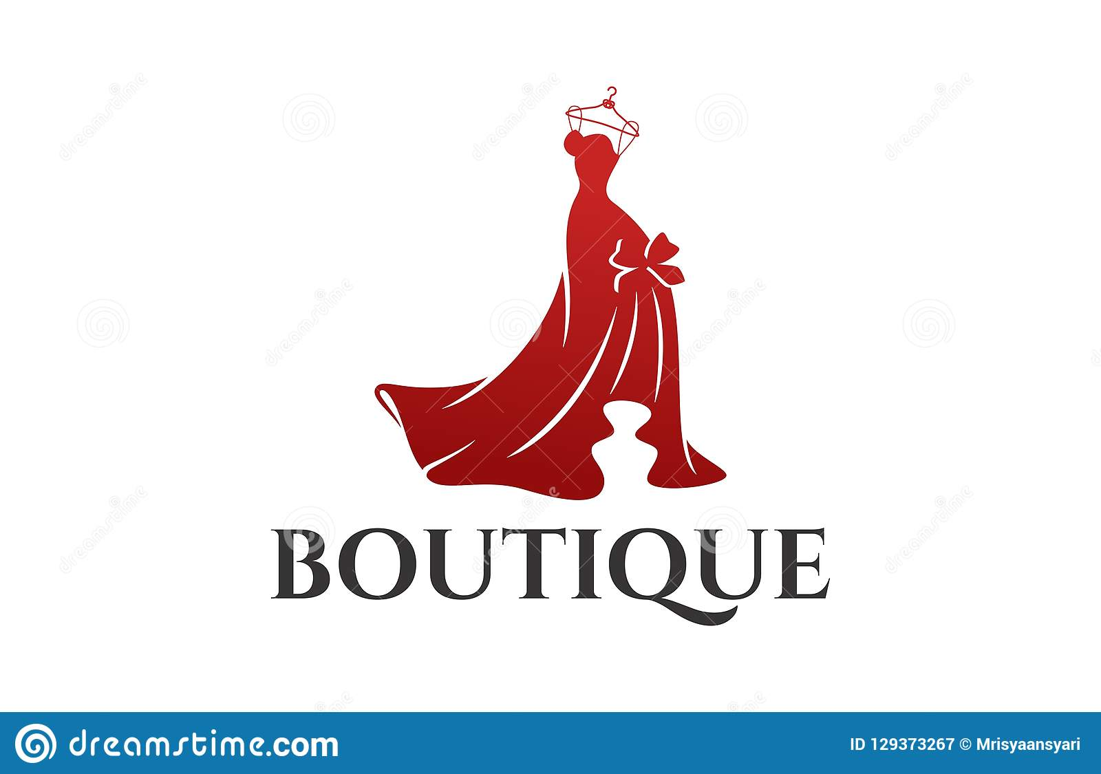 Fashion Logo Design Stock Vector Illustration Of Dress 129373267