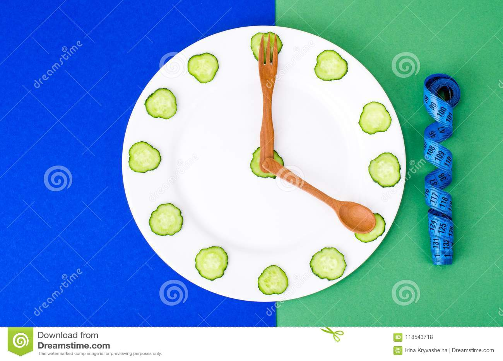 Concept dieetvoeding, gezonde levensstijl, vegetarisch menu