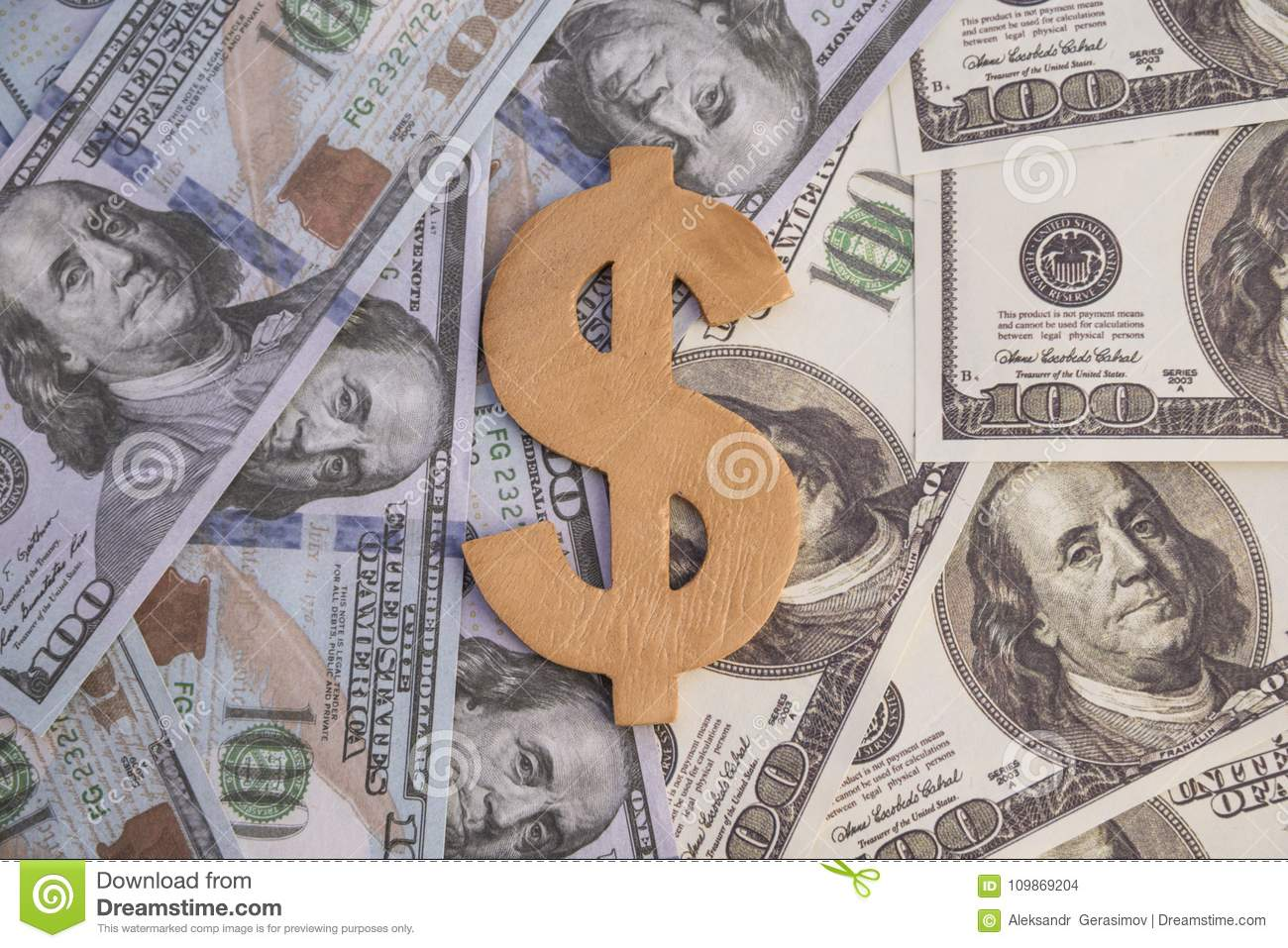 Concept dollar symbol from wood on money one hundred dollars of old concept dollar symbol from wood on money one hundred dollars of old and new sample bills royalty free stock photo download concept dollar symbol from buycottarizona Gallery