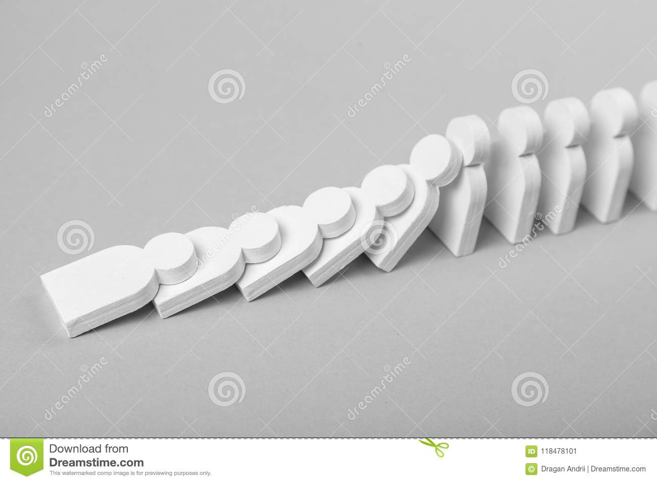 domino effect in business