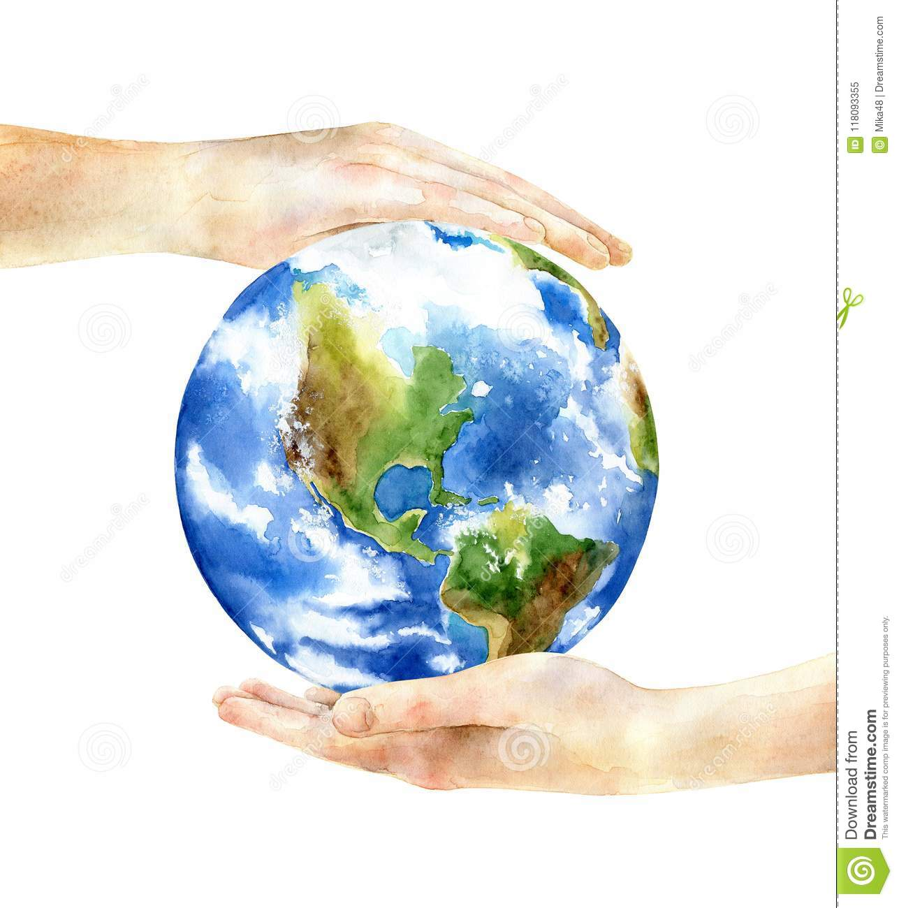 Concept of the Earth Day