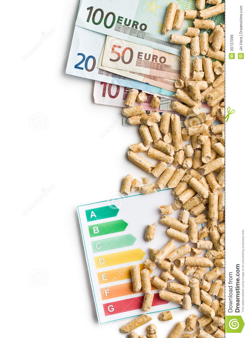 Pellets For Heating Stock Image Cartoondealer Com 47418307