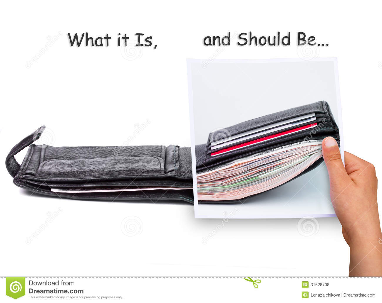 What should be a wallet 82