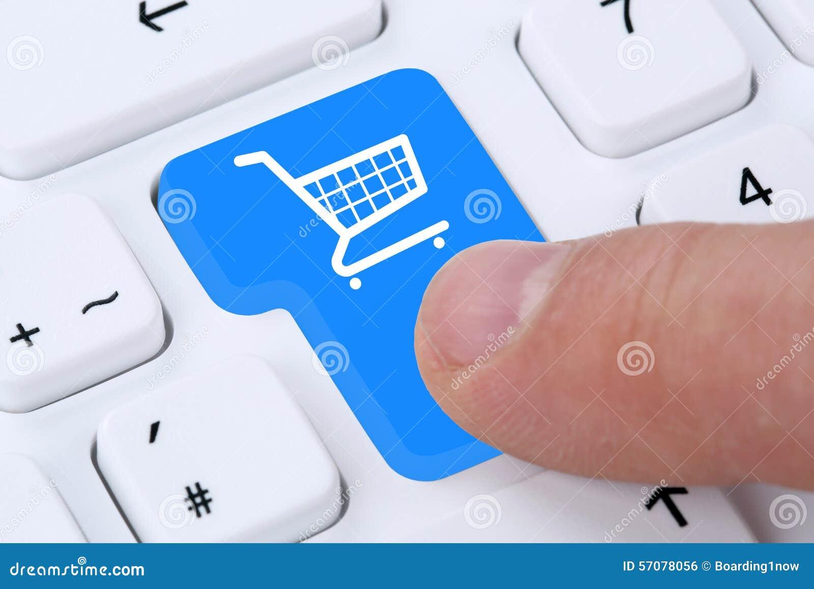 Concept en ligne de boutique d Internet de bon d achat d achats