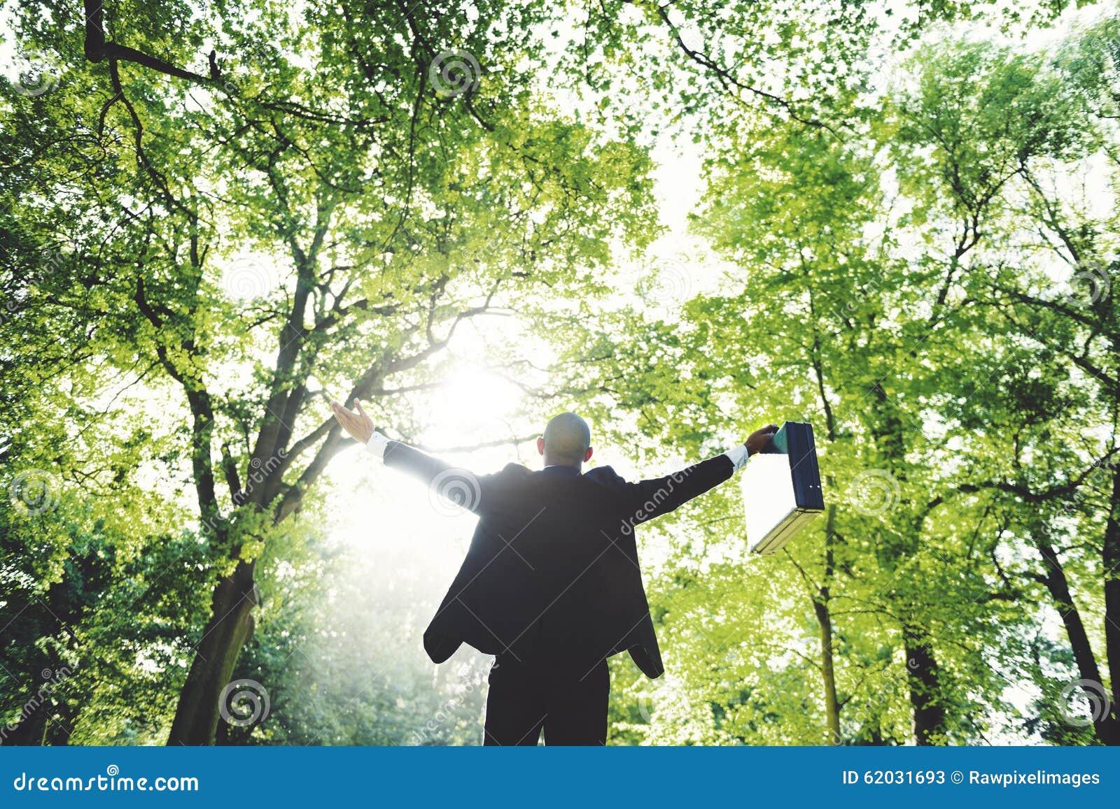 Concept environnemental de conservation de relaxation d affaires