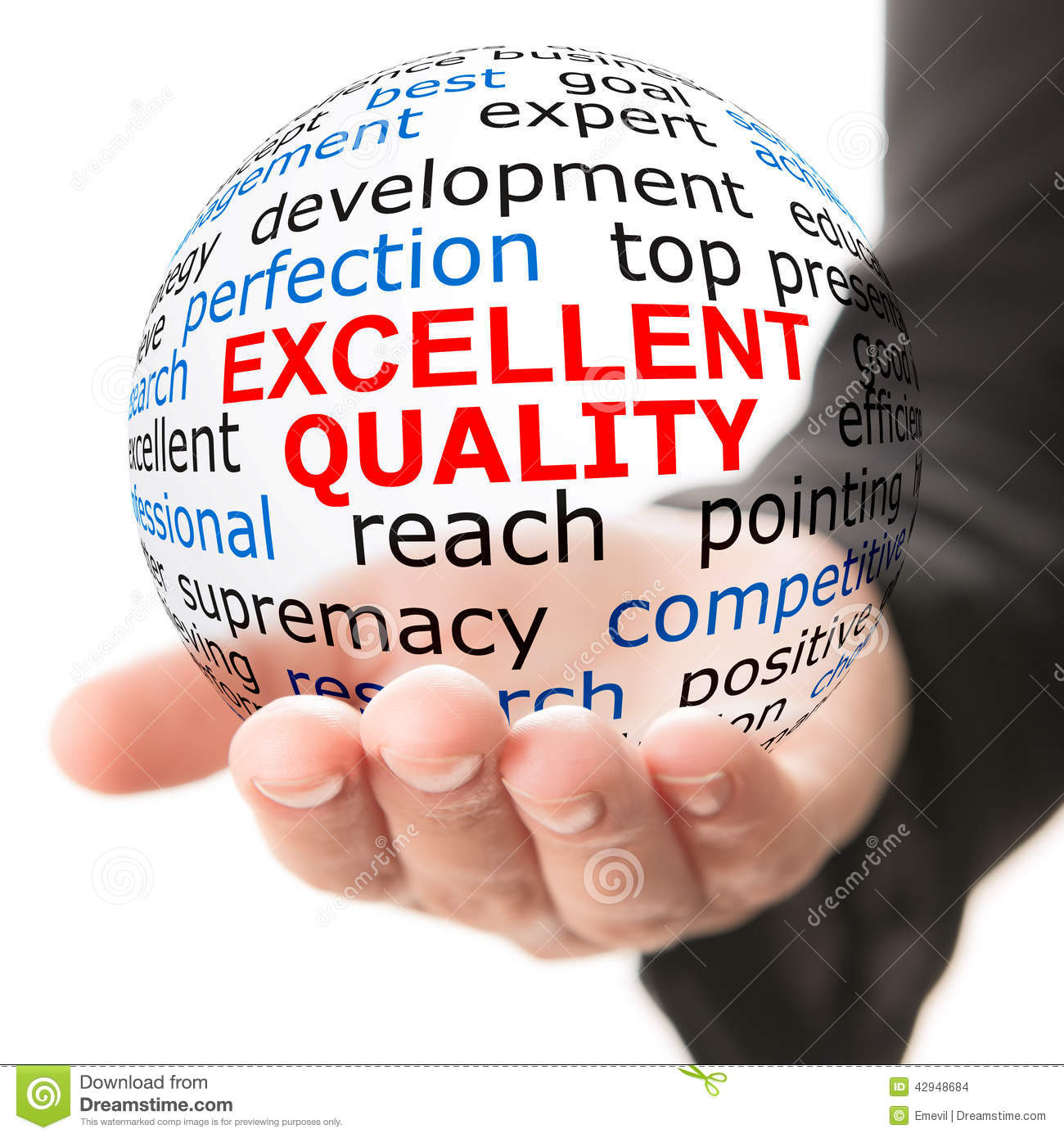 9dfb37475e3 Concept Of Excellent Quality Stock Photo - Image of ideas ...