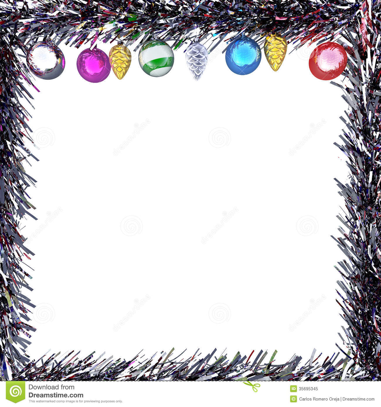 Concept Frame Christmas Greeting Cards Stock Illustration ...