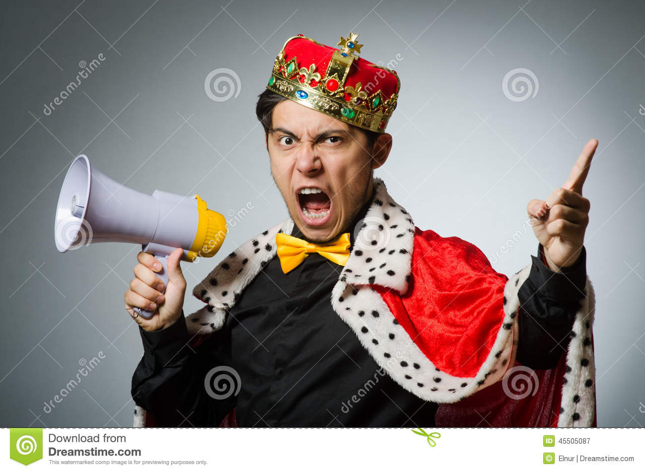 Concept With Funny Man Stock Photo Image 45505087