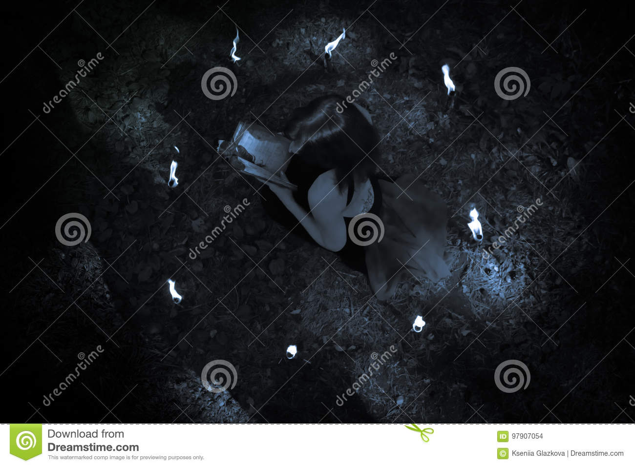 concept of halloween witch in black stock photo image of