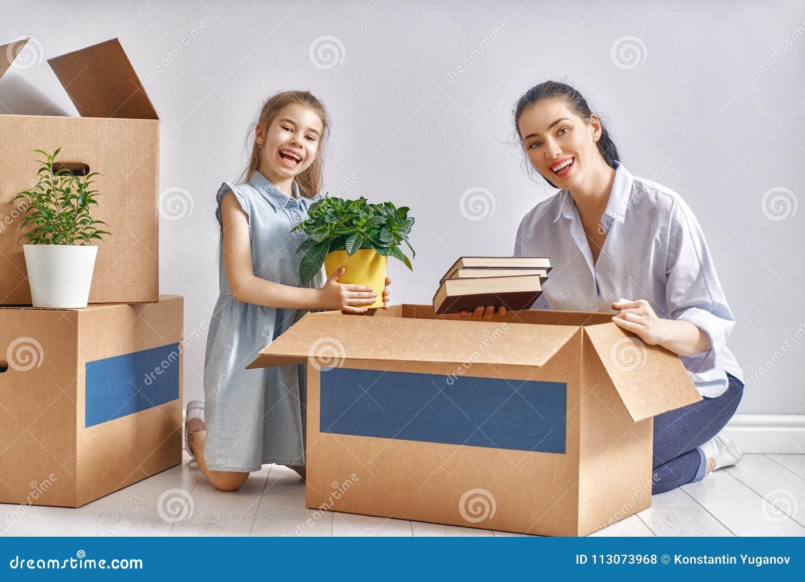 Concept huisvesting voor familie