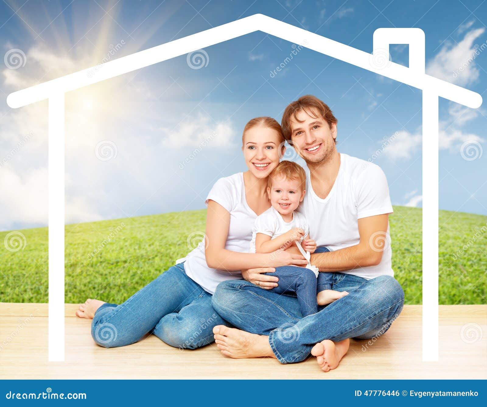 Concept: huisvesting voor jonge families