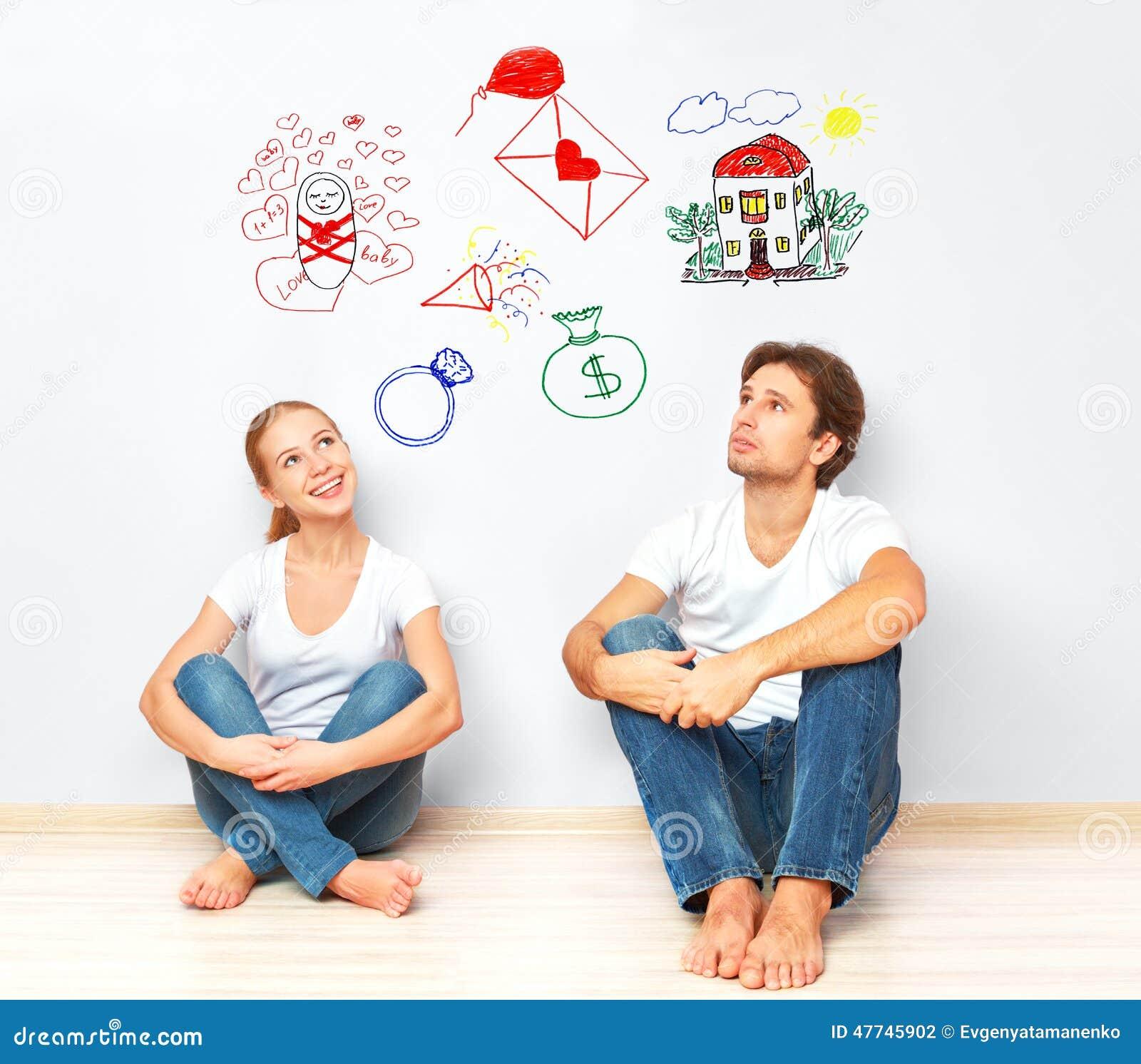 Concept jeunes couples r vant de la nouvelle maison for Www conception de la nouvelle maison