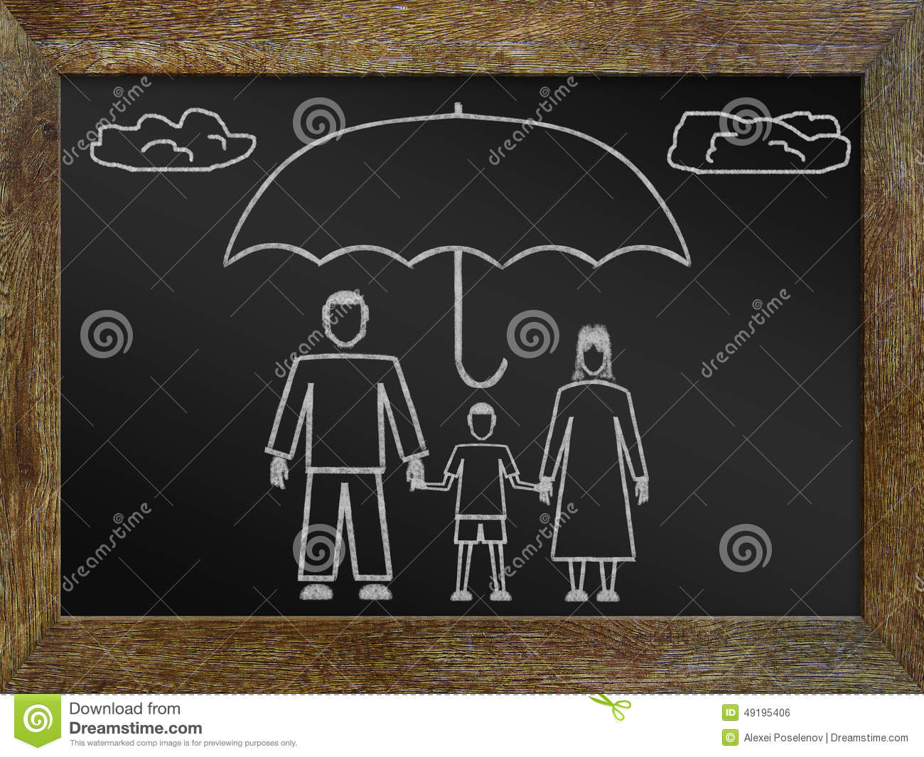 Download Concept of life insurance stock photo. Image of safety - 49195406
