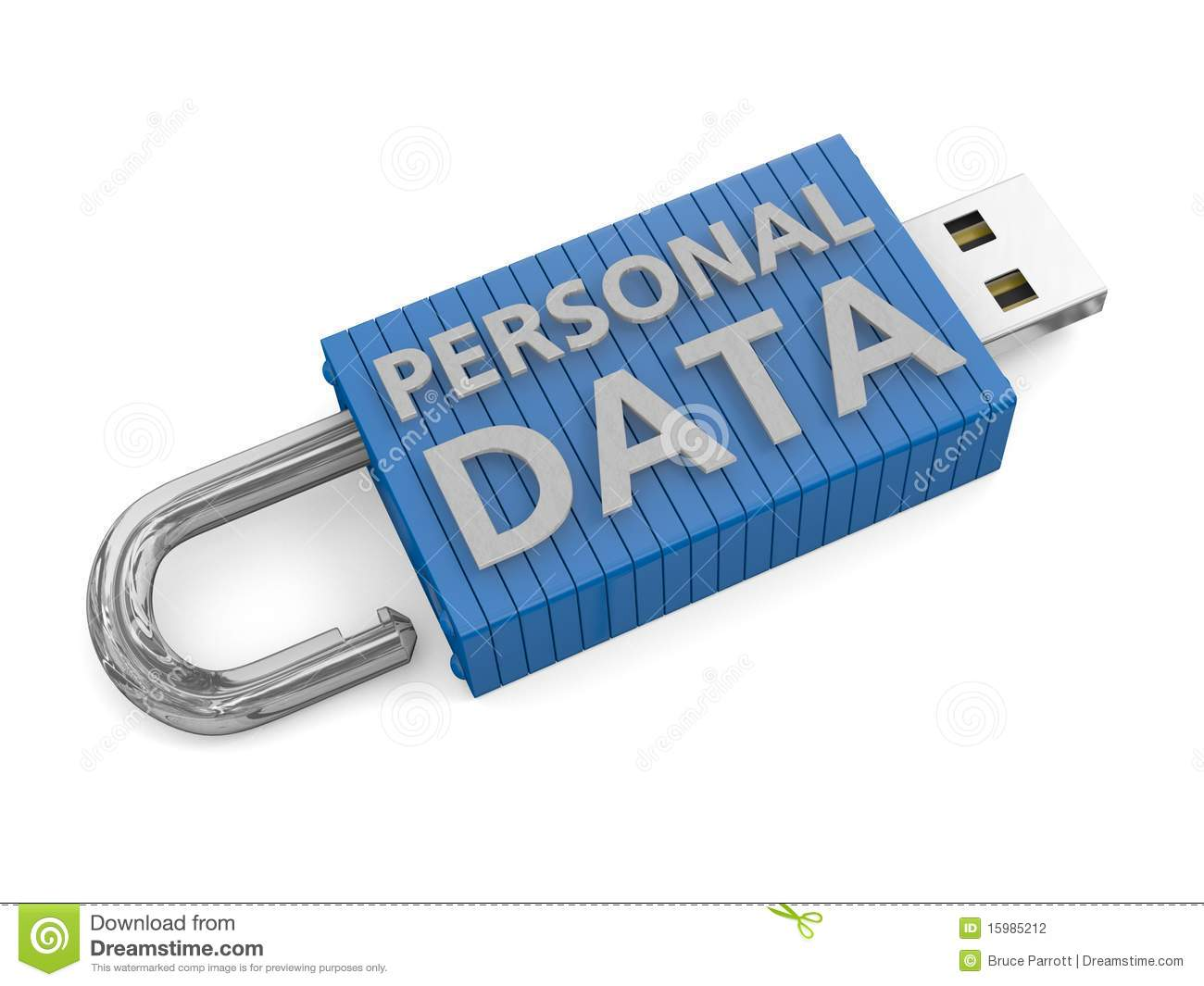 Concept For Loss Of Personal Data Stock Photography - Image: 15985212