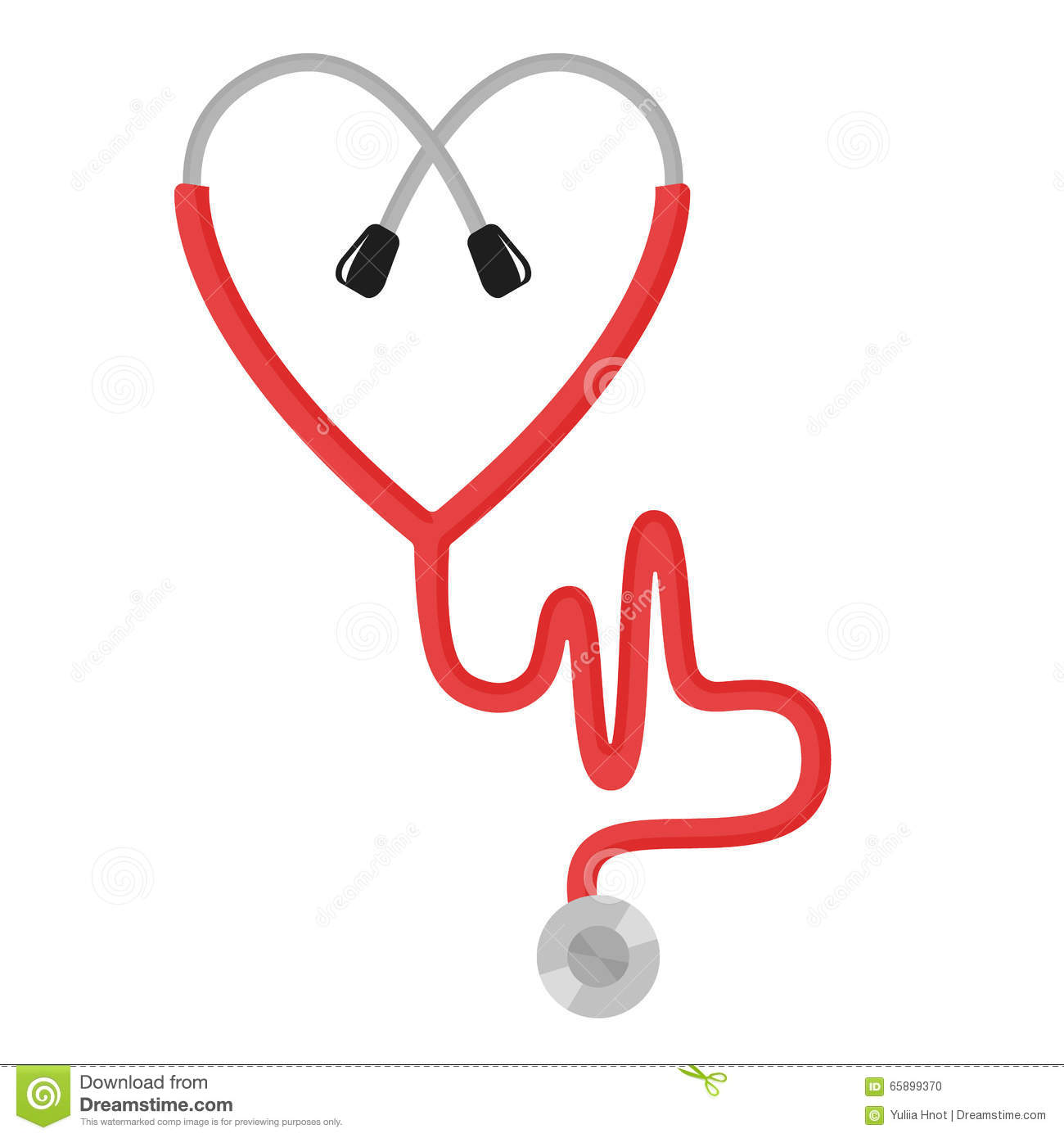 the concept of love in medicine stock vector   image 65899370