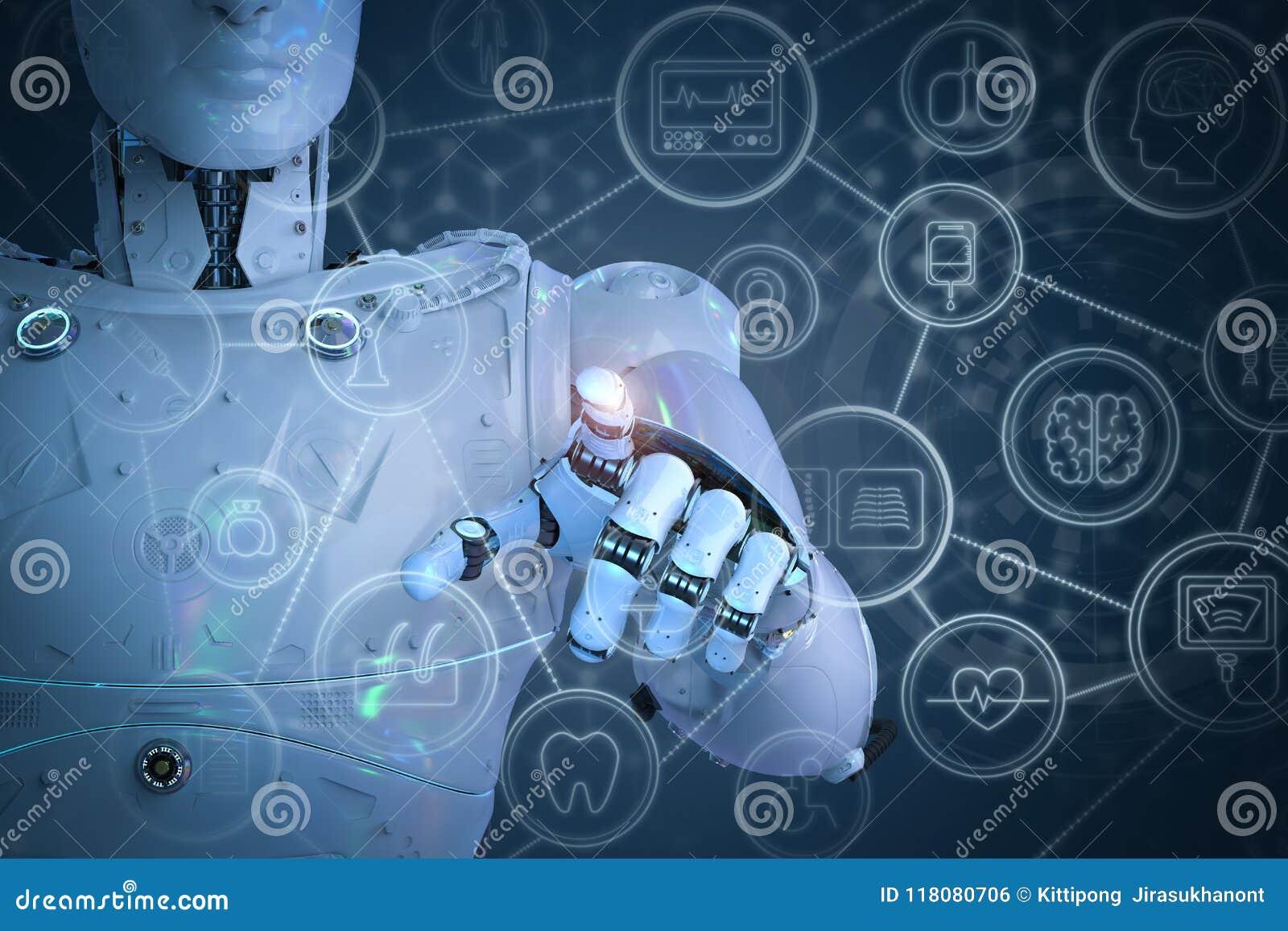 Concept médical de technologie