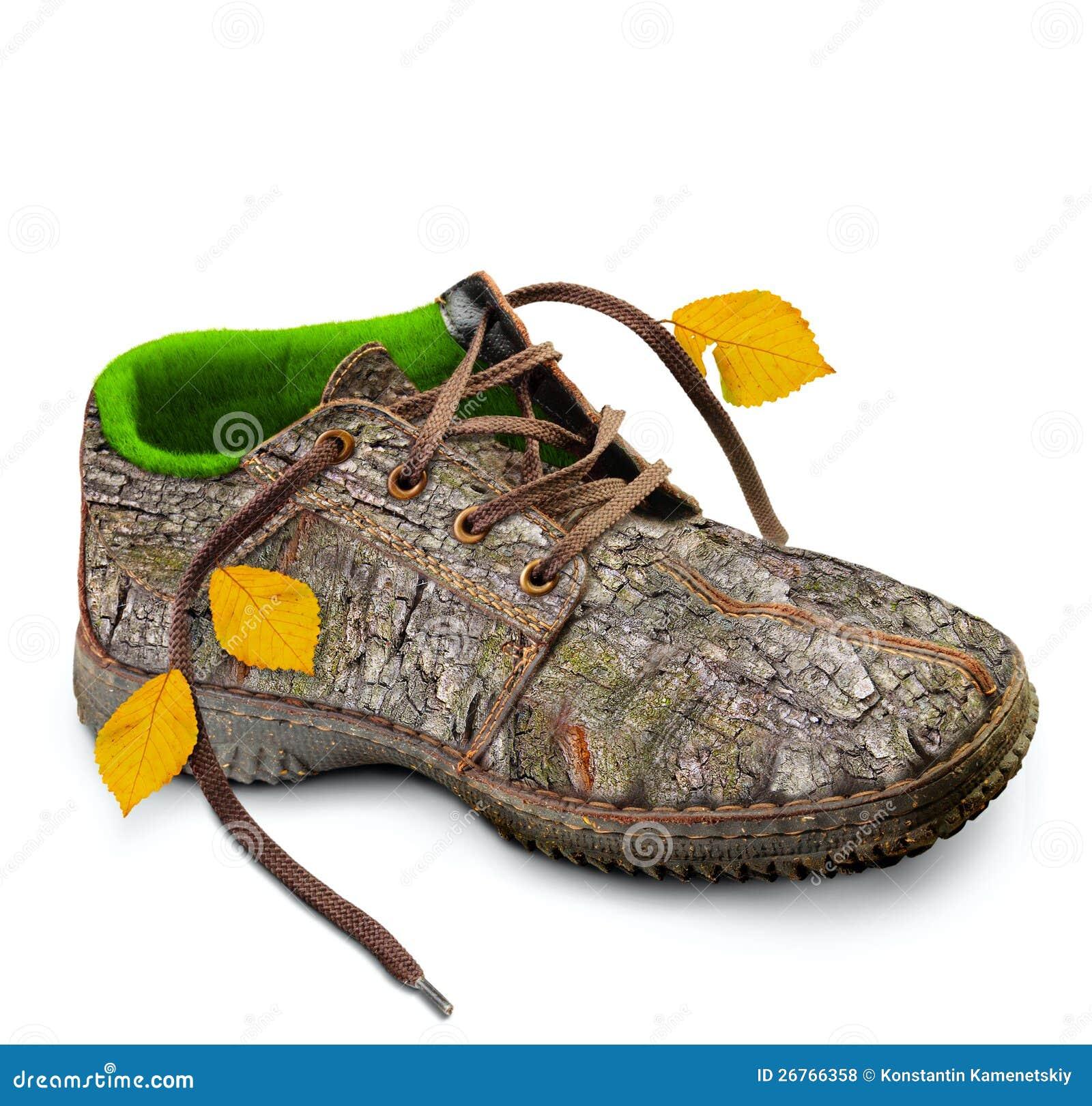 Concept  Milieuvriendelijke Schoenen  Royalty vrije Stock Foto u0026#39;s   Beeld  26766358