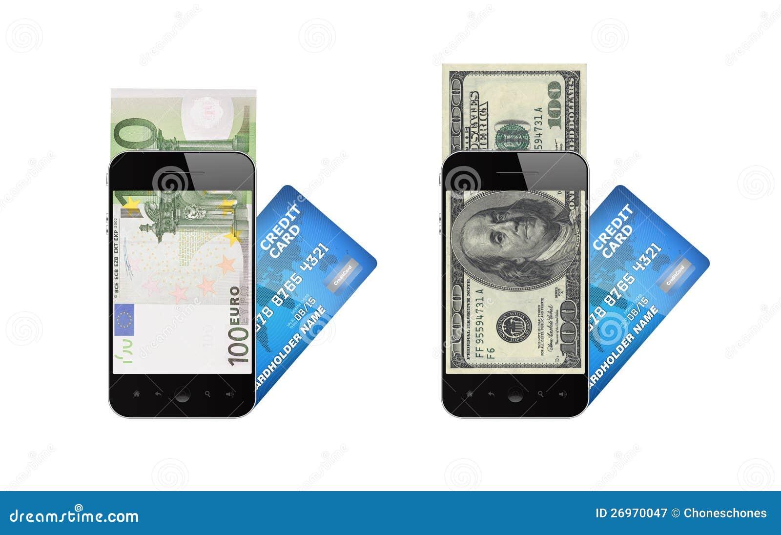 Concept mobile de paiement