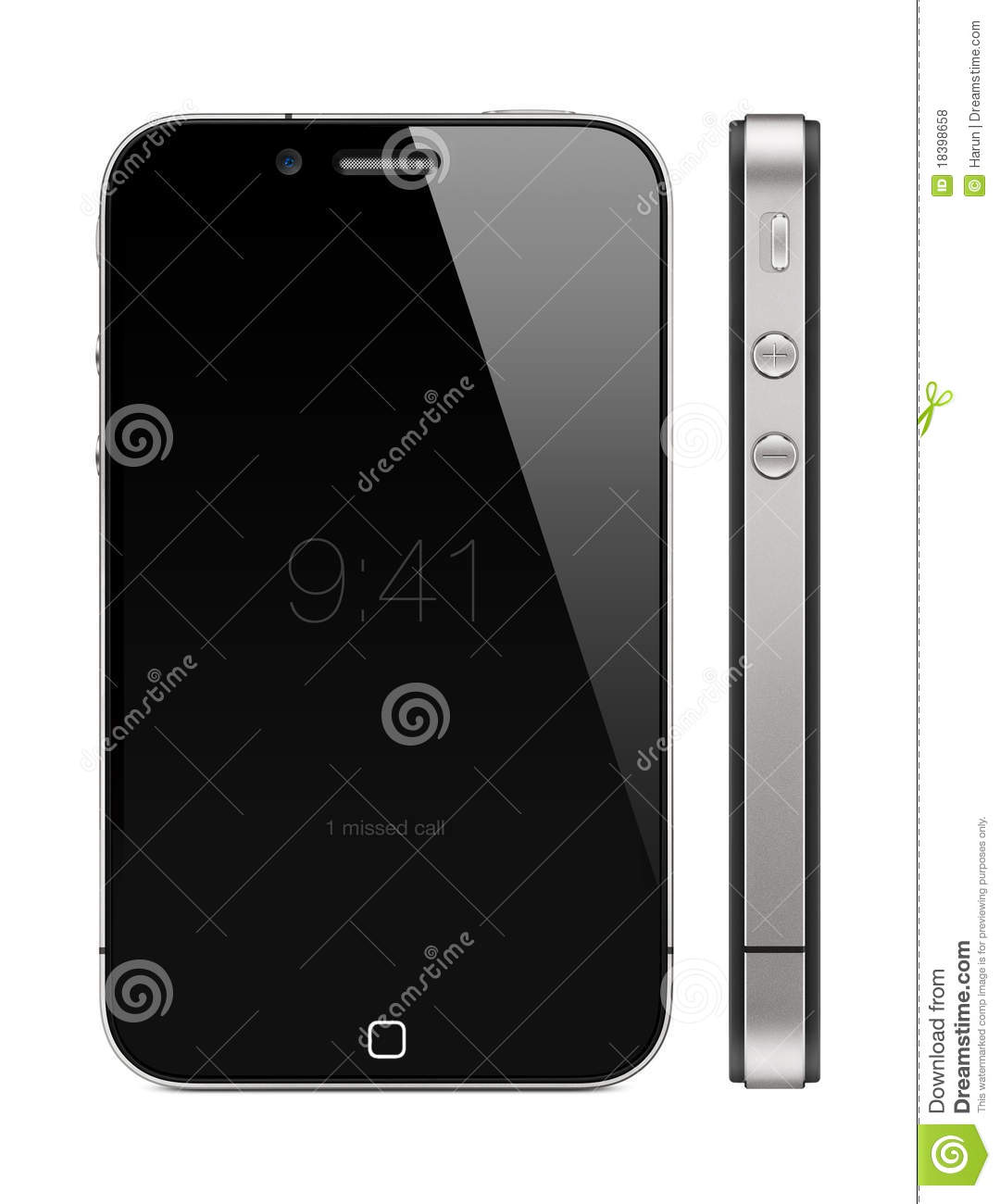 Concept neuf de l iPhone 5 d Apple