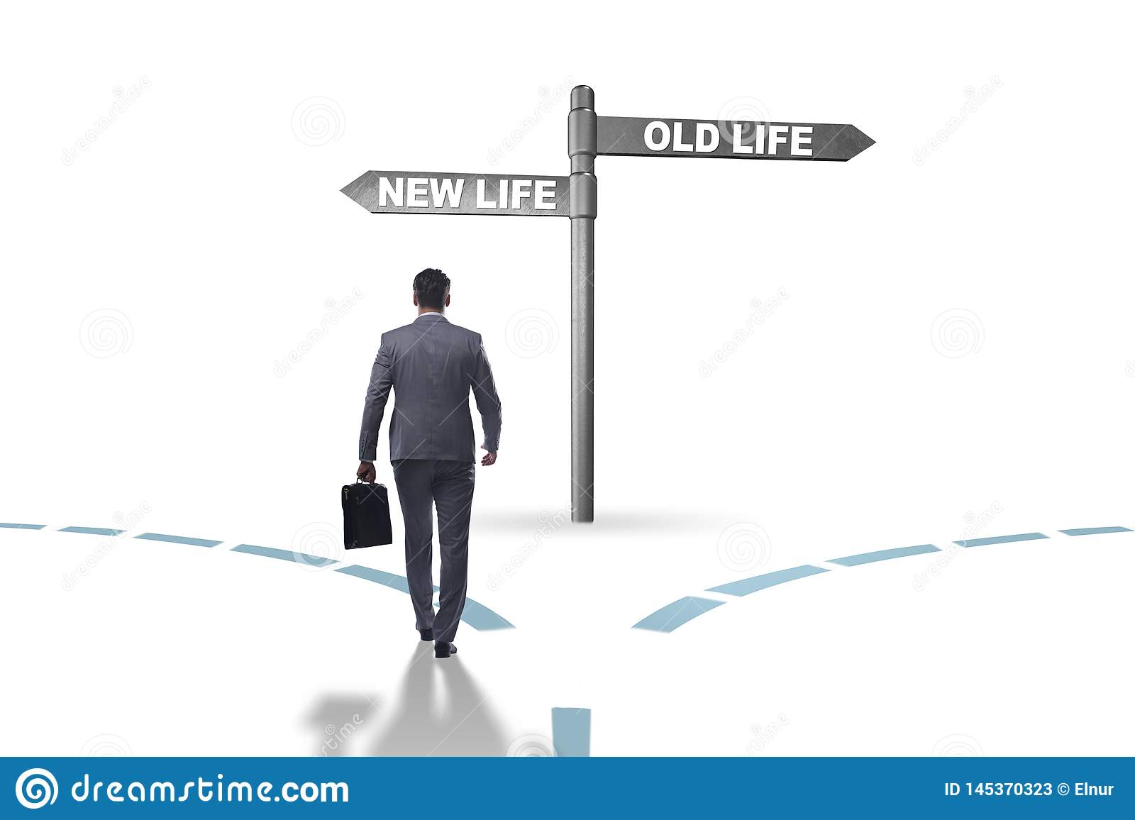 The concept of new and old life