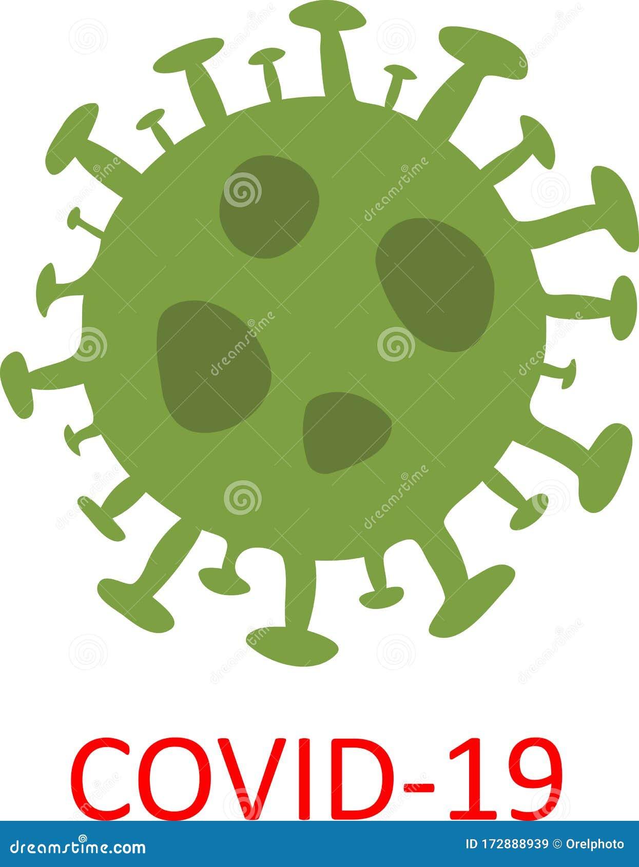 Concept Of Novel Coronavirus Outbreak Covid-19 Stock ...